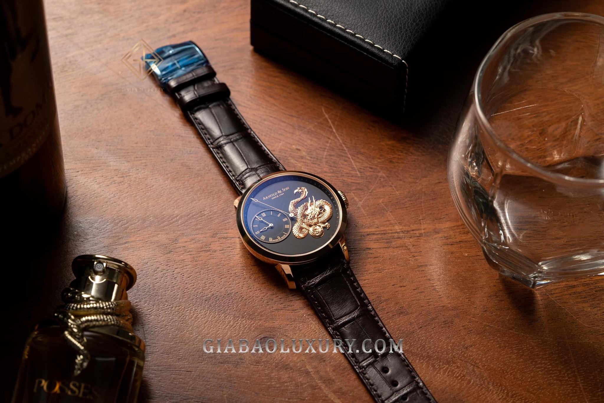 Đồng hồ Arnold & Son Metiers d'Art TB Dragon Limited Edition 1ARAP.B04A.C120P-121P
