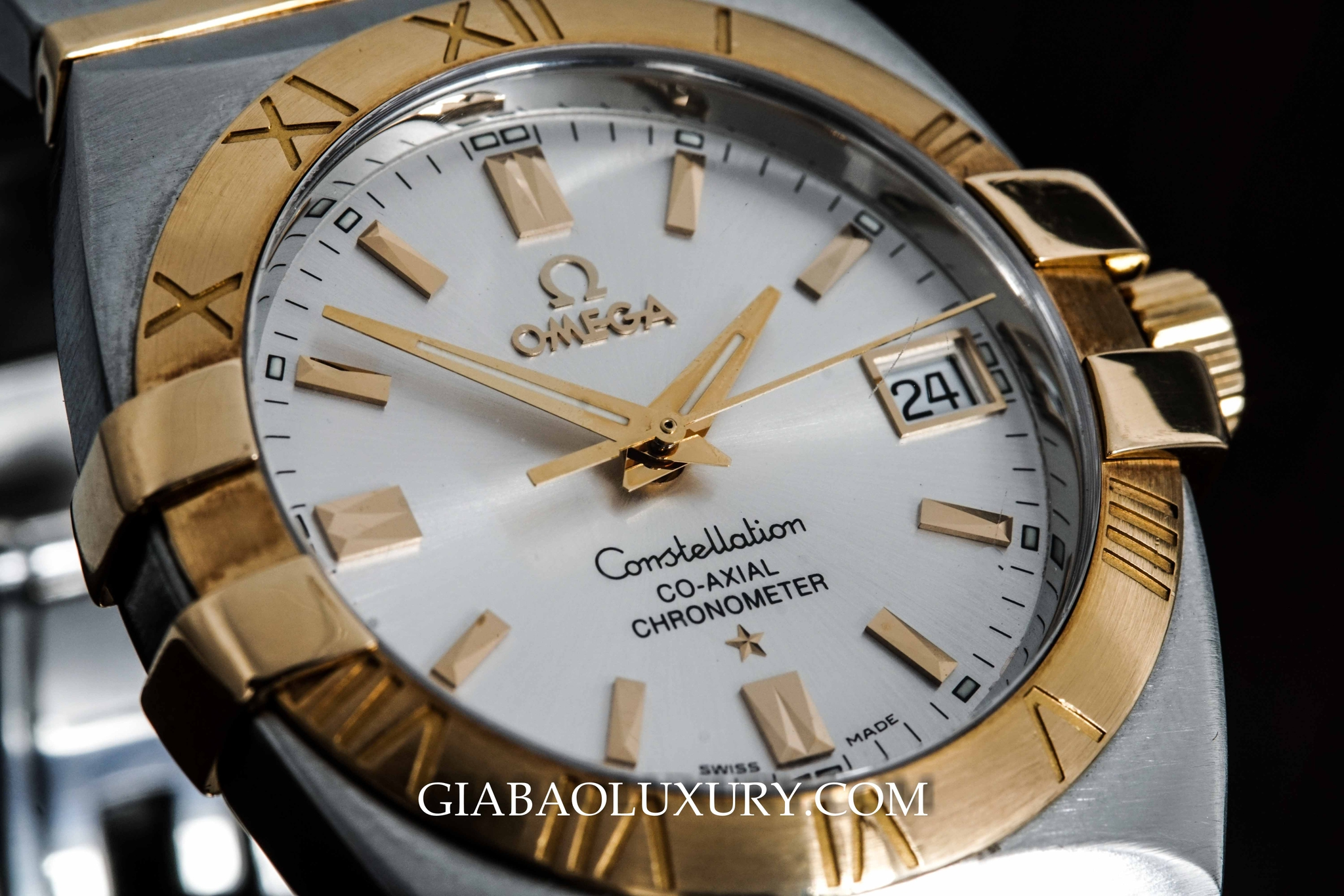 ĐỒNG HỒ OMEGA CONSTELLATION DOUBLE EAGLE CO-AXIAL 1203.30