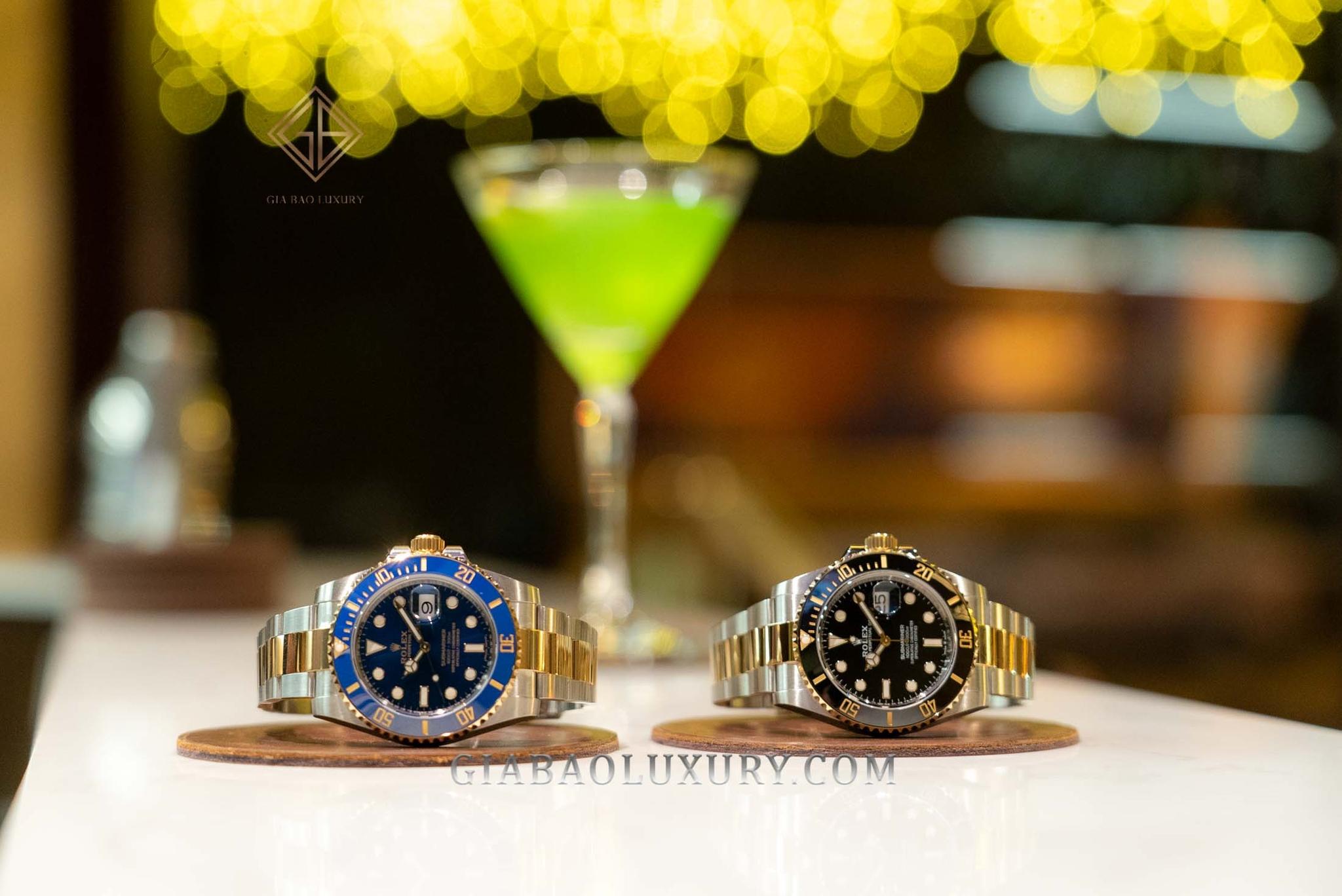 Đồng Hồ Rolex Submariner 126613LN Mặt Số Đen
