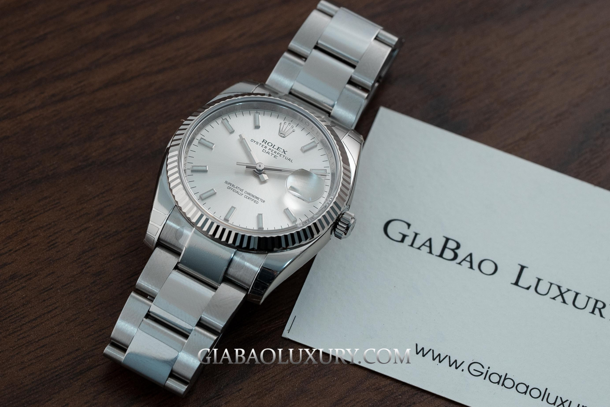 Đồng hồ Rolex Oyster Perpetual Datejust 115234