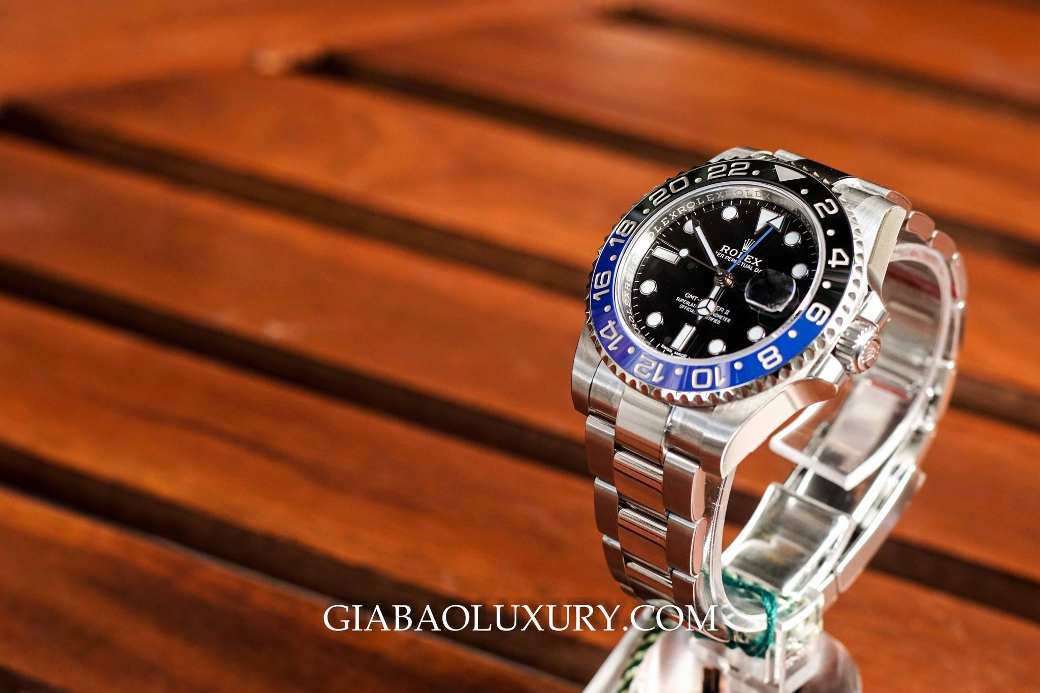 đồng hồ Rolex GMT-Mater II 116710BLNR
