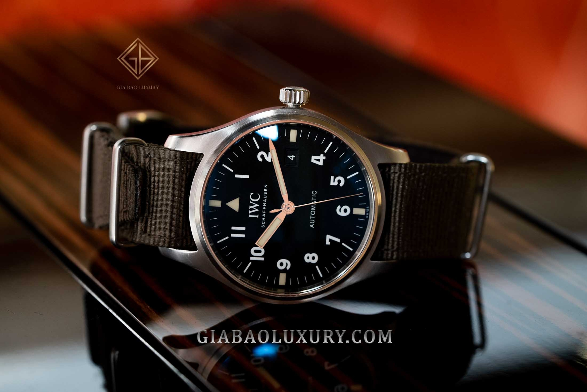 "đồng hồ IWC Mark XVIII Edition ""Tribute to Mark XI"" IW327007 giới hạn 1948 chiếc"