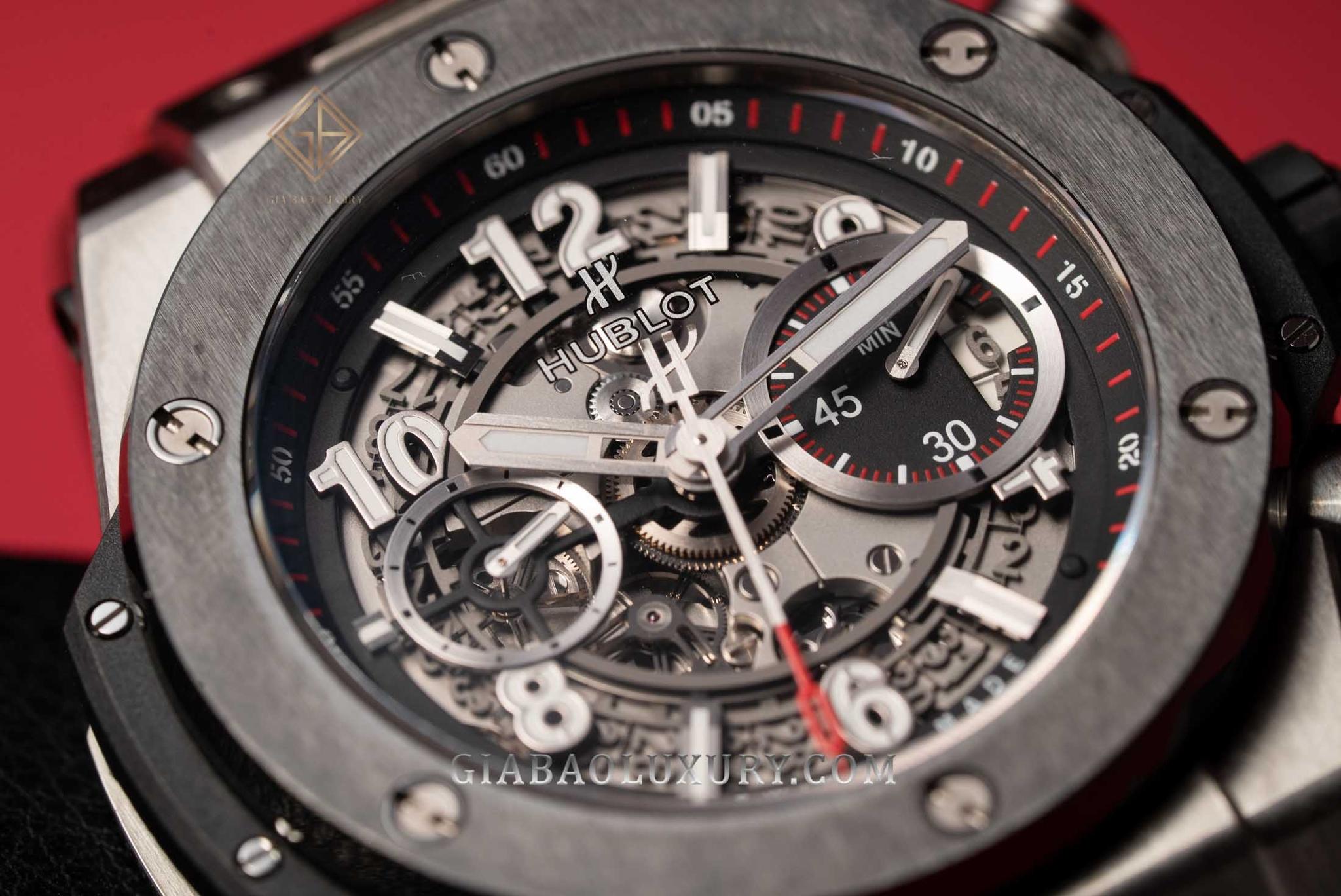 Review đồng hồ Hublot Big Bang Unico 45 Titanium Ceramic