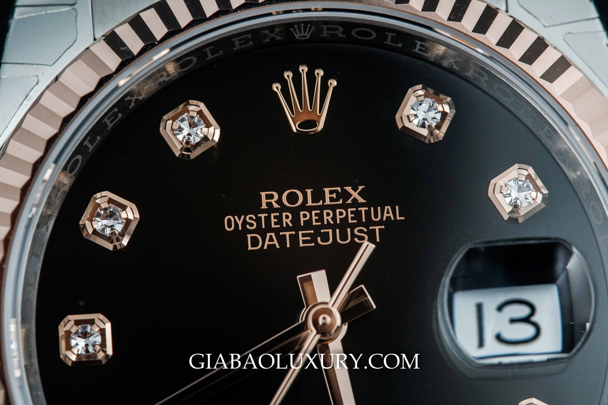 Đồng hồ Rolex Oyster Perpetual Datejust 36 116231 mặt đen