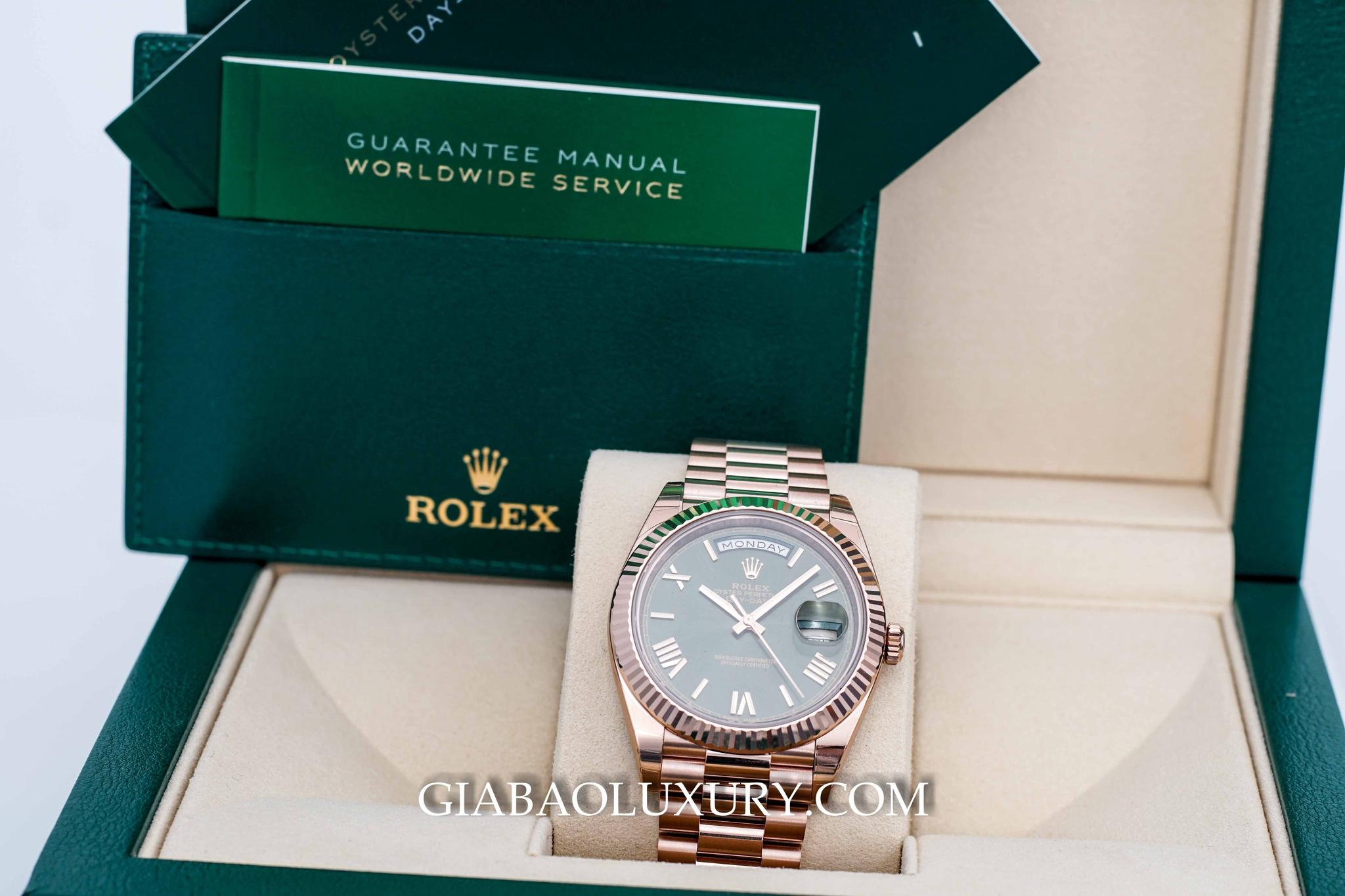 đồng hồ Rolex Day-Date 228235 phiên bản kỷ niệm