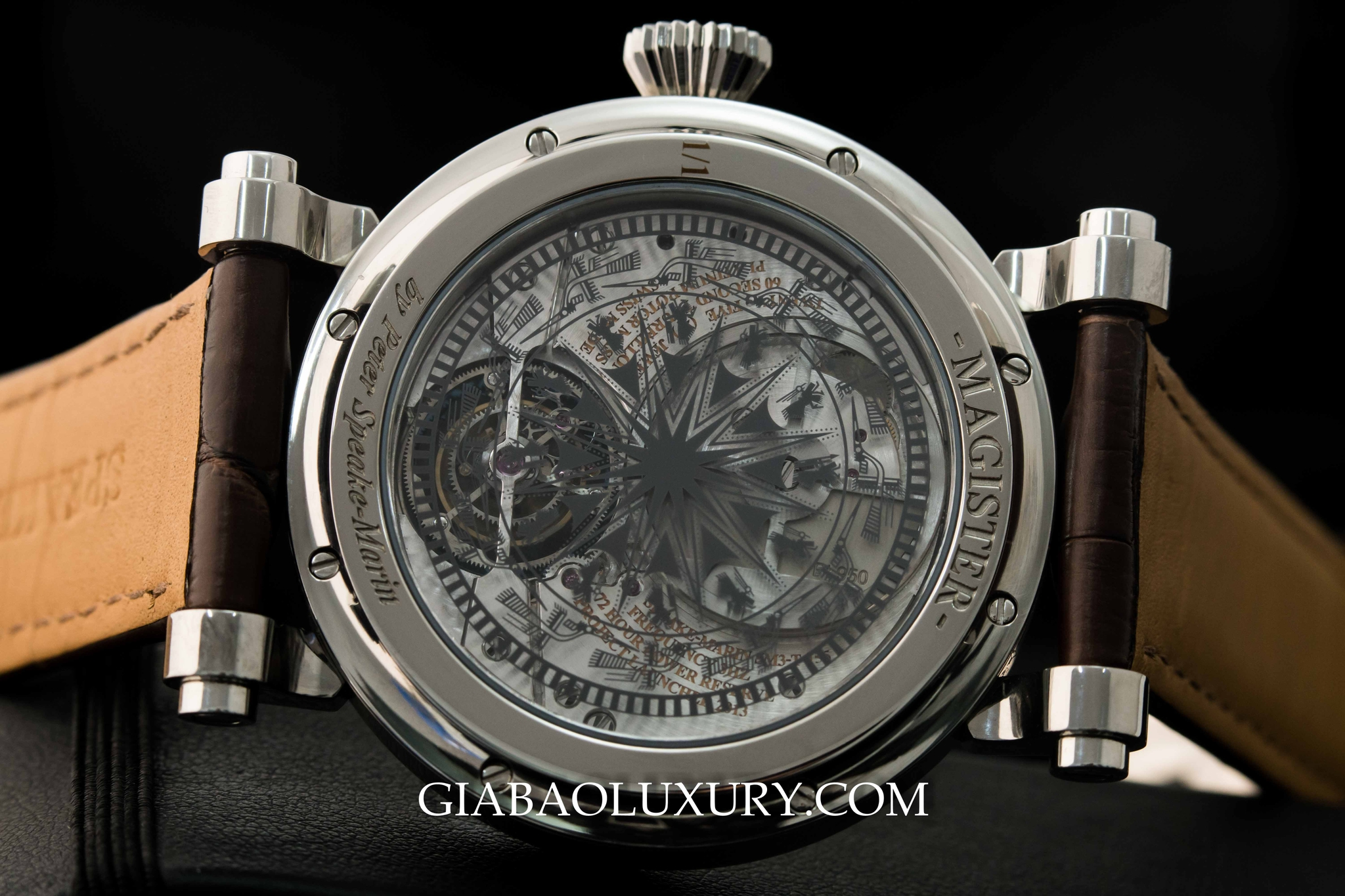Review đồng hồ Speake Marin Dong Son Tourbillon 5N