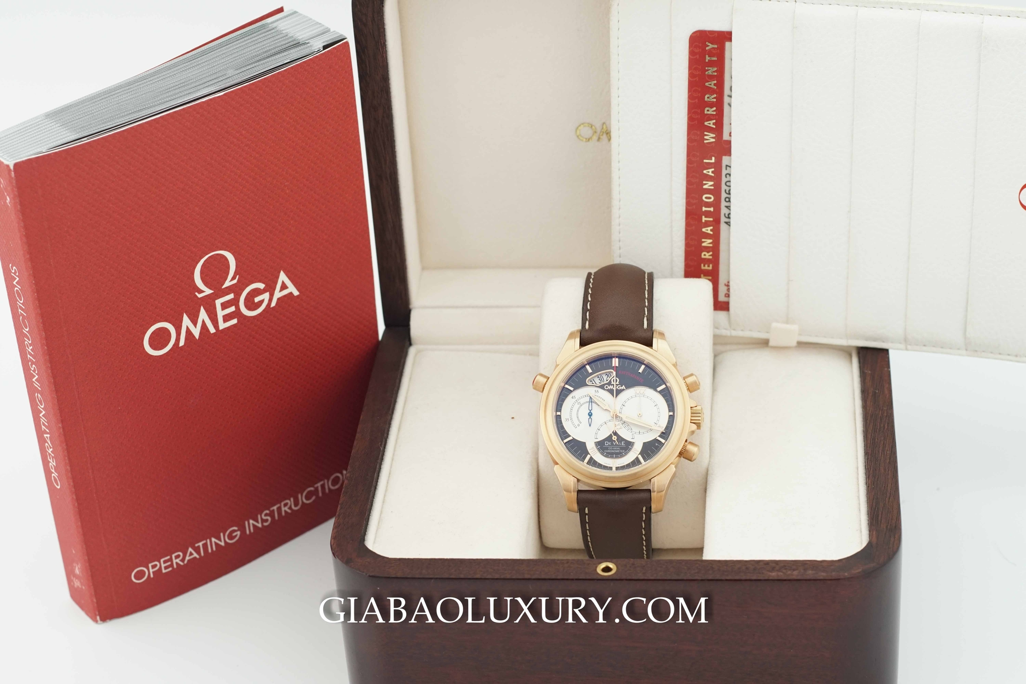 Đồng Hồ Omega Deville Co Axial Chronoscope Rattrapante Chronograph Chronometer