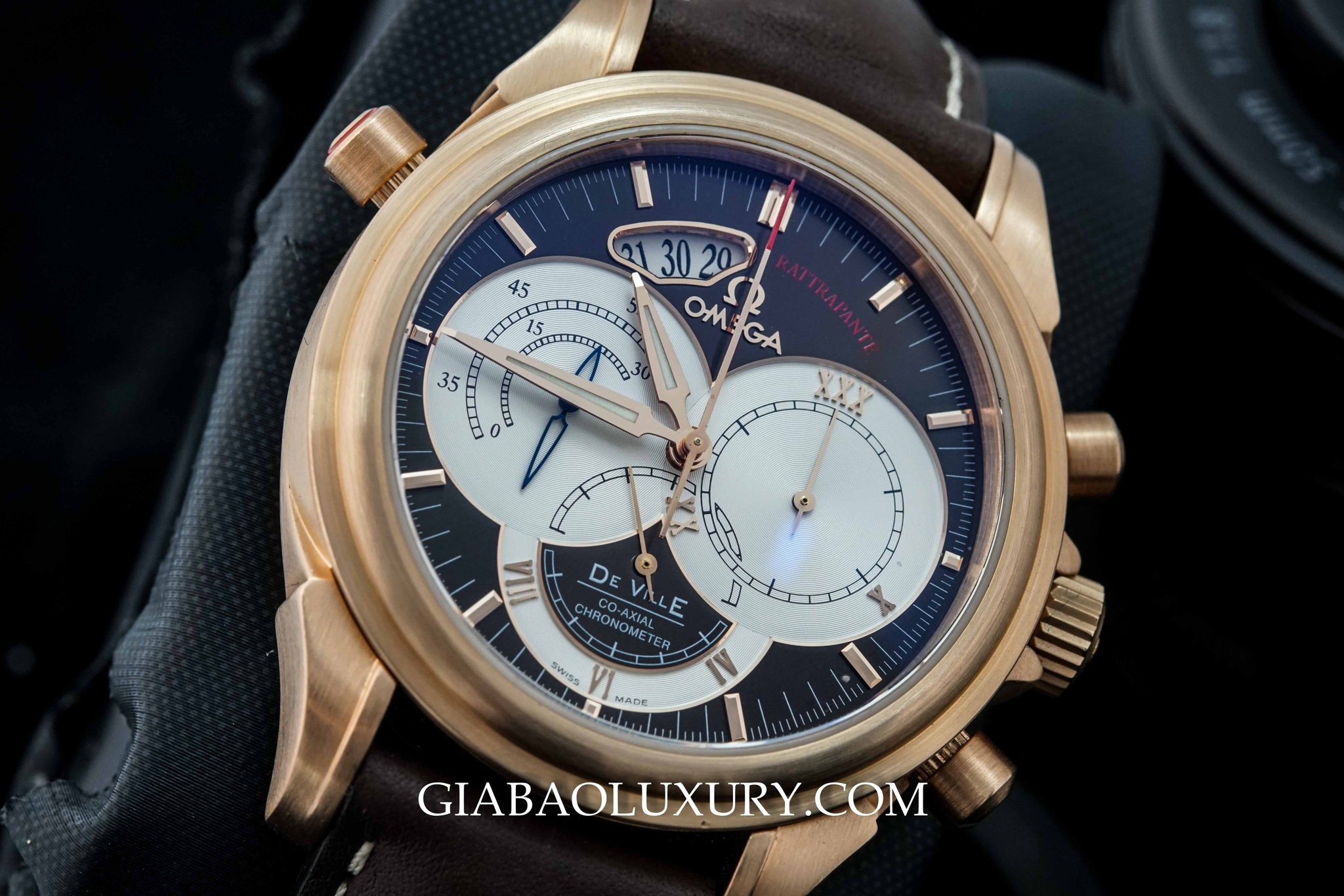 Đồng Hồ Omega Di Ville Chronosope Co-Axial Rattrapante
