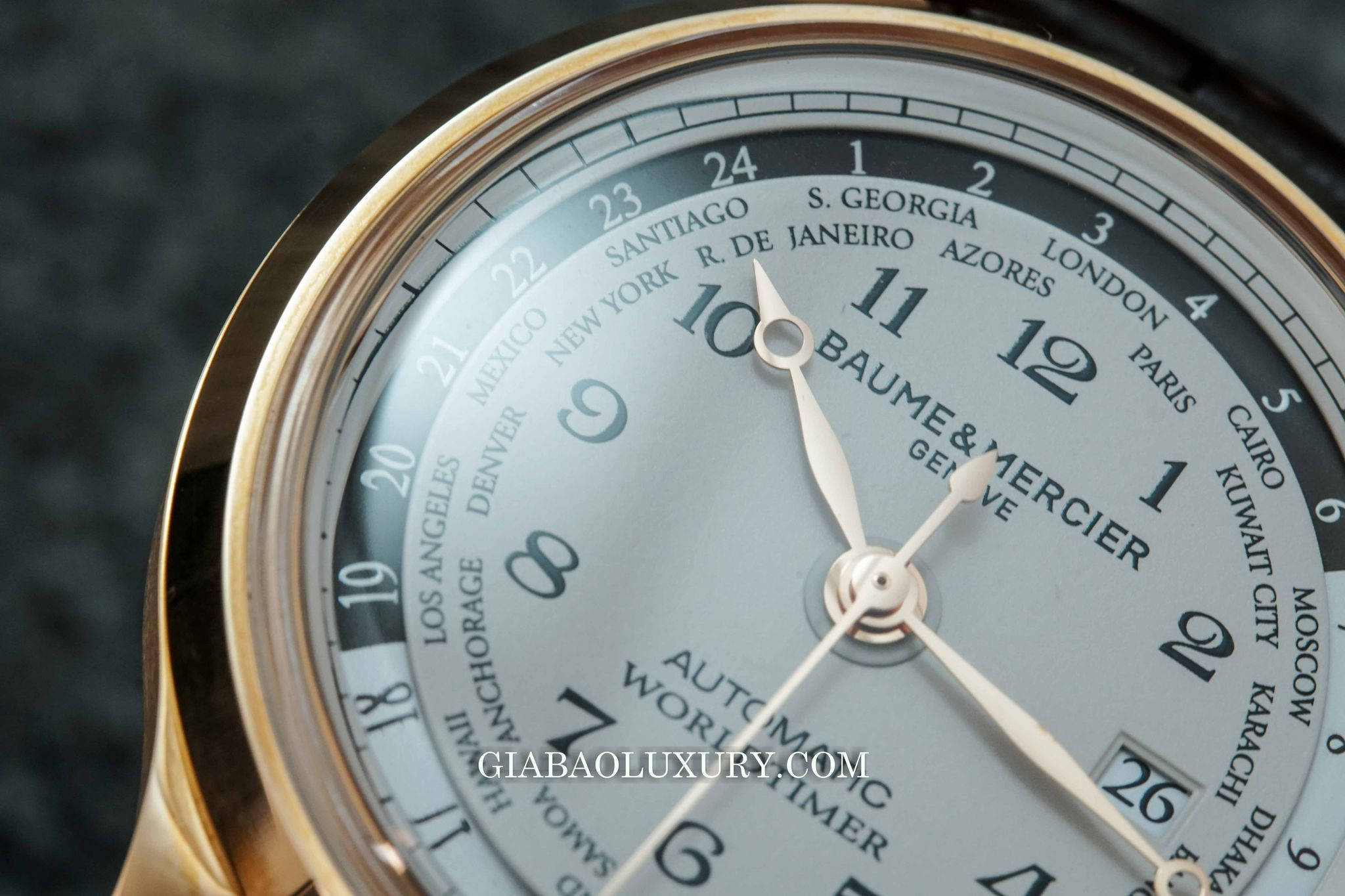 Đồng Hồ Baume And Mercier Capeland Worldtimer
