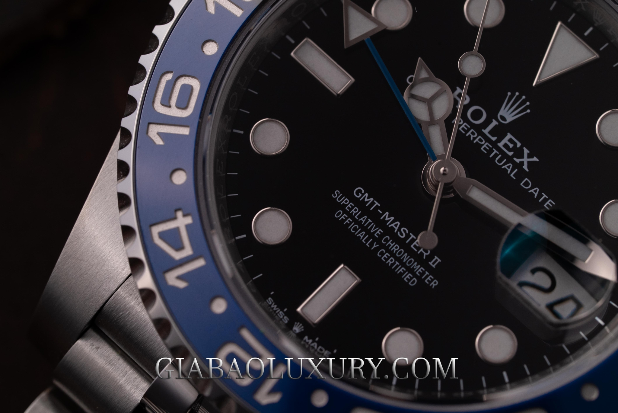 Review Đồng Hồ Rolex GMT-Master II 126710BLNR