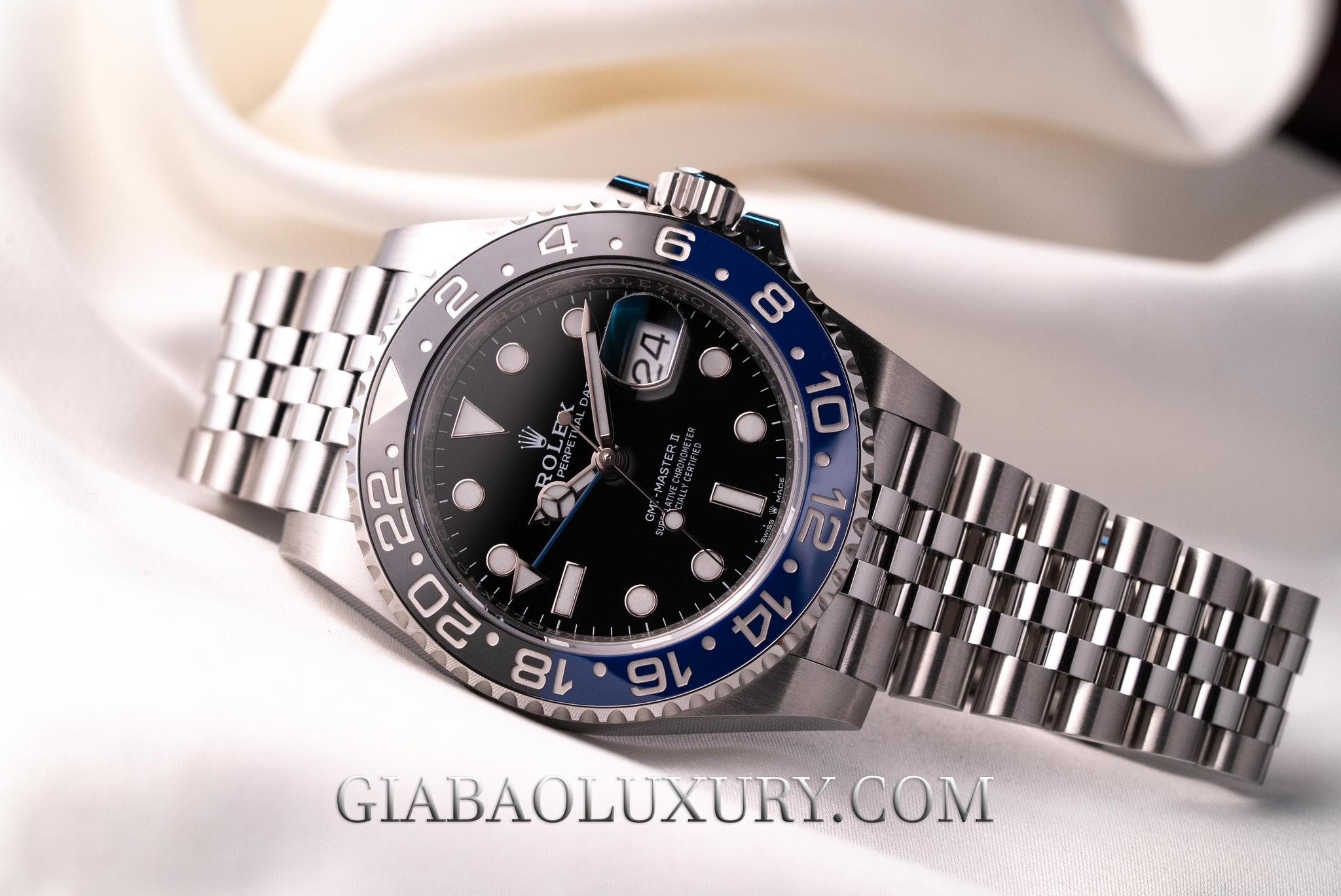Đồng hồ Rolex GMT-Master Batman 126710BLNR