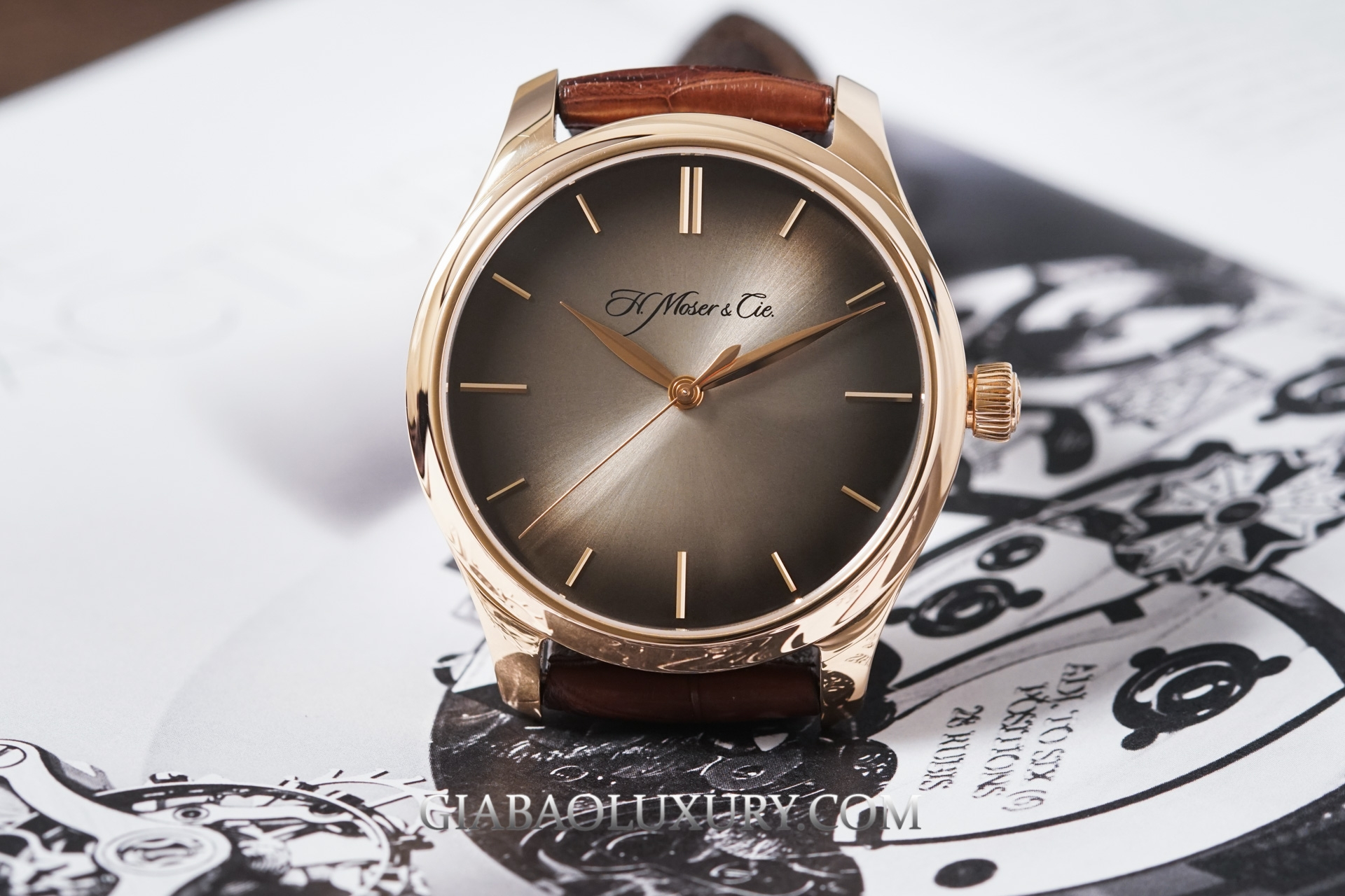 Đồng Hồ H. Moser & Cie Endeavour Centre Seconds Automatic 1200-0400