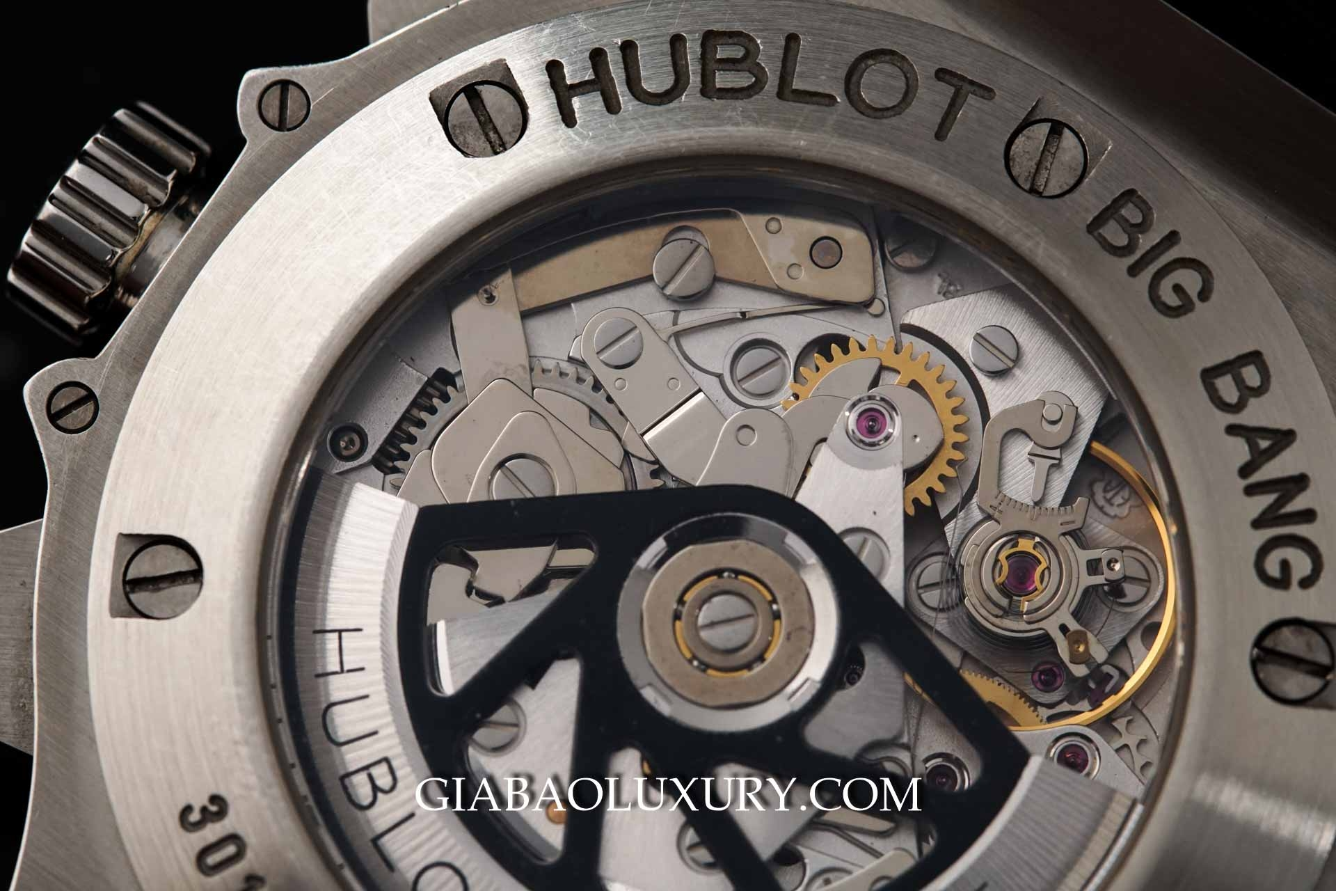Đồng hồ Hublot Big Bang Steel Diamonds Chronograph 44mm 301.SX.130.RX.114