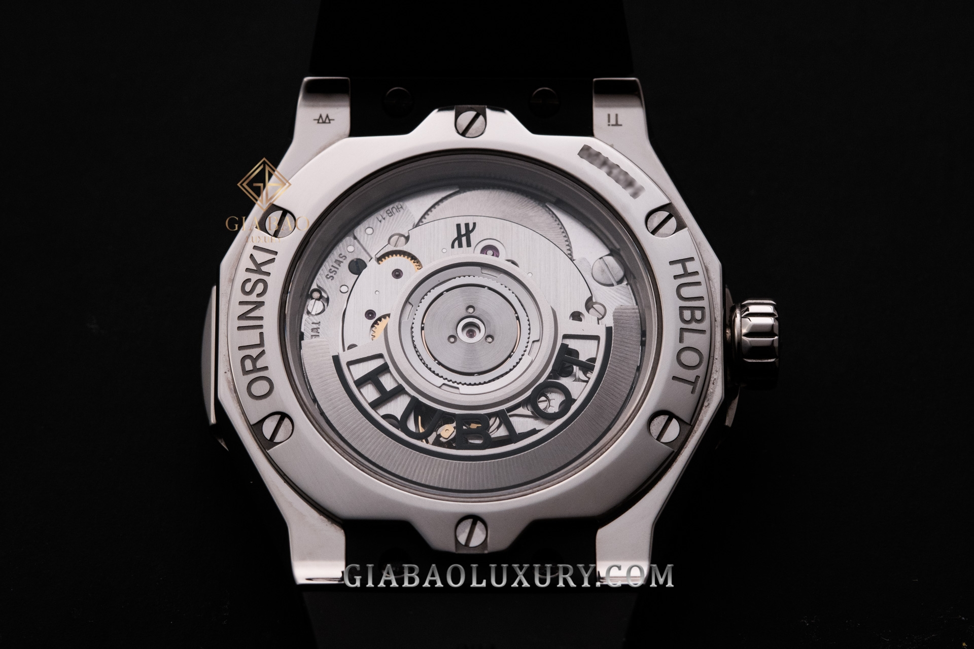 Đồng Hồ Hublot Classic Fusion Orlinski Titanium 40mm 550.NS.1800.RX.ORL19