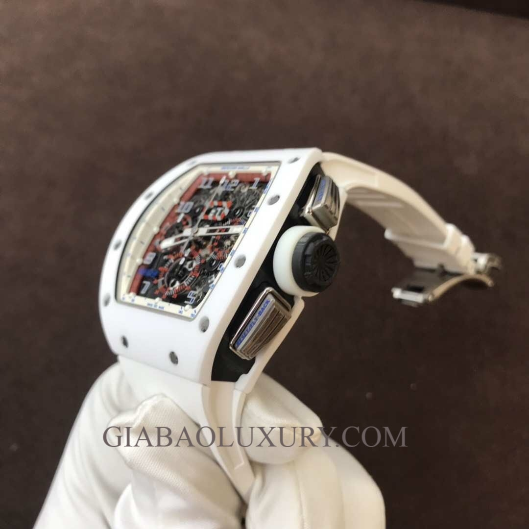 Đồng Hồ Richard Mille RM 011 White Ceramic Limited Edition