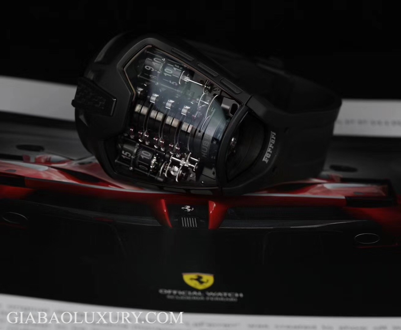 Đồng hồ Hublot MP-05 LaFerrari All Black