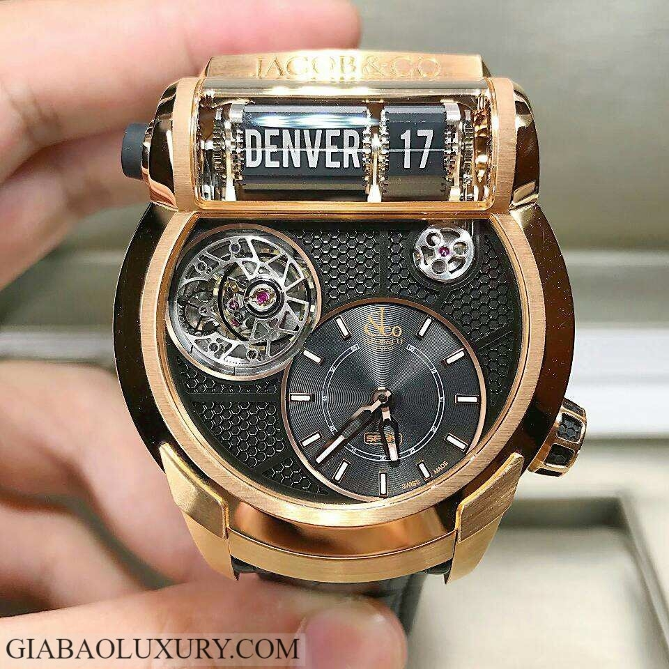 Đồng hồ Jacob & Co Epic SF24 Flying Tourbillon ES102.40.NS.LG.A