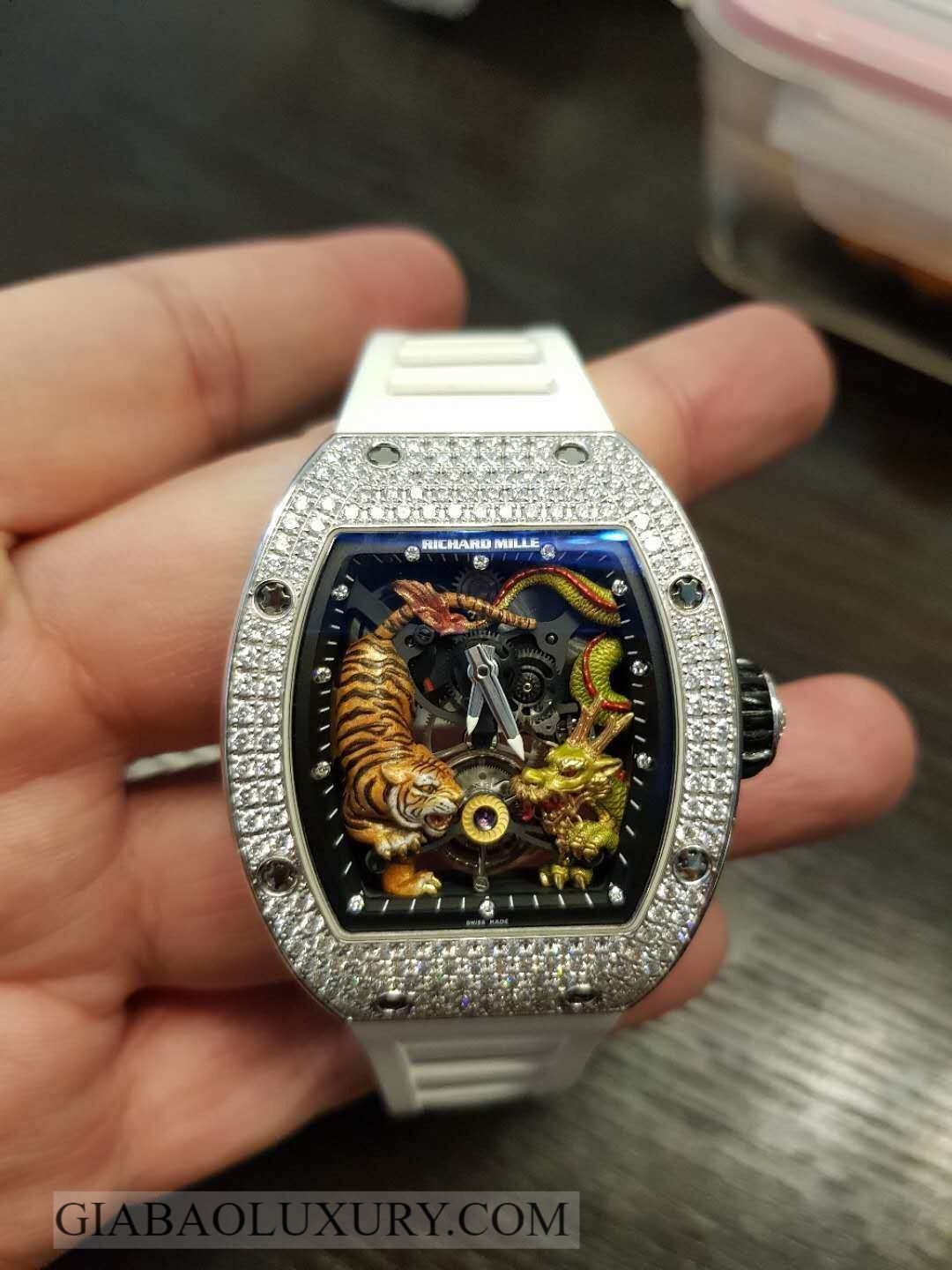 Đồng Hồ Richard Mille RM 51-01 Tourbillon Tiger and Dragon - Michelle Yeoh
