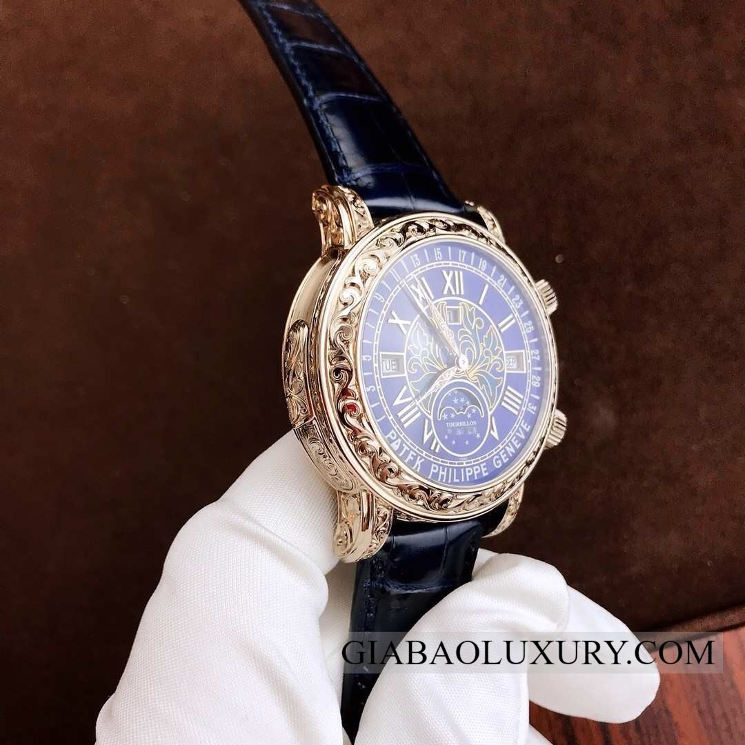Đồng hồ Patek Philippe Grand Complications 6002G-010 Đồng hồ Patek Philippe Grand Complications 6002G-001