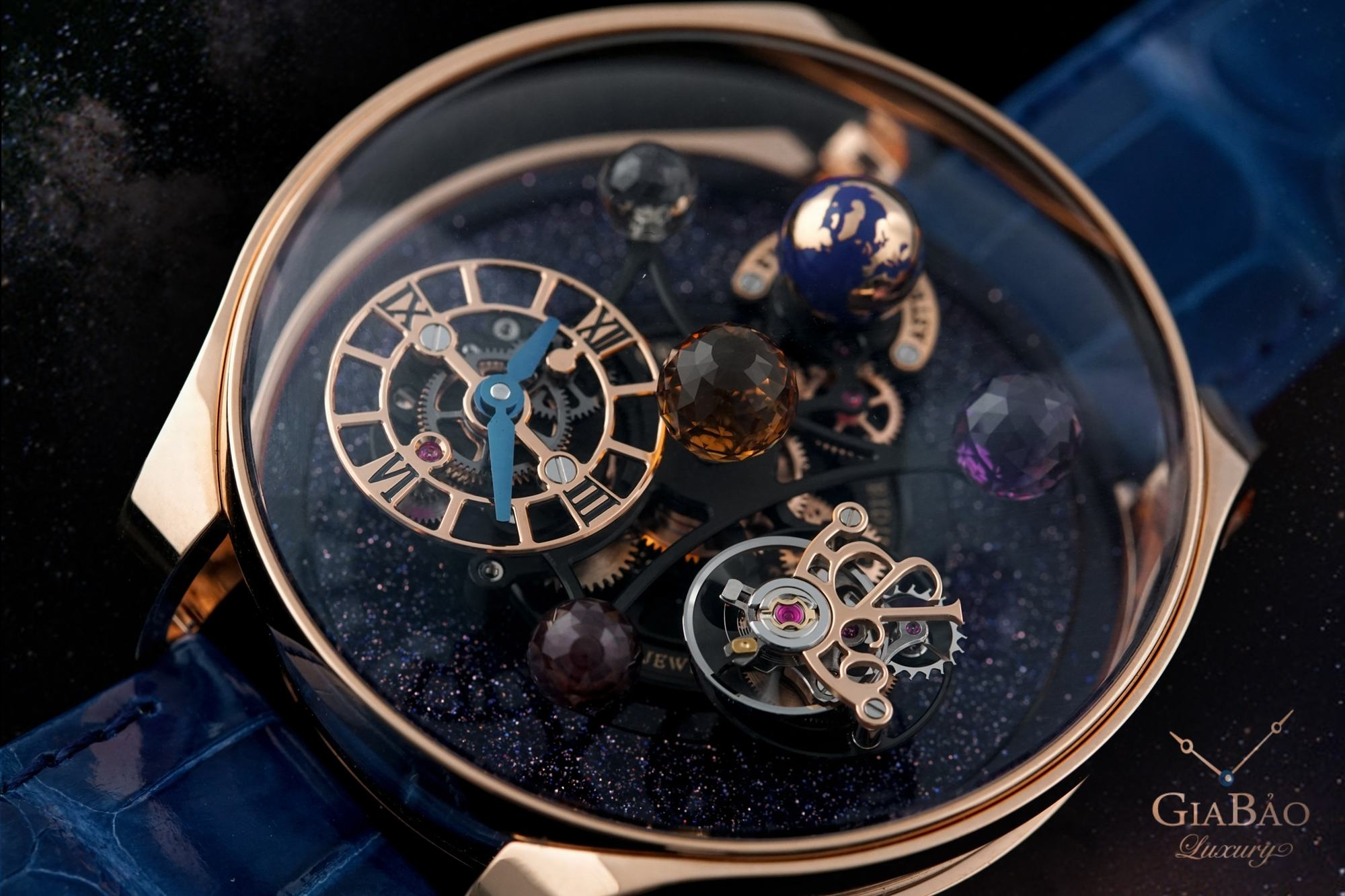 Đồng Hồ Jacob & Co Astronomia Solar Jewellery Planet