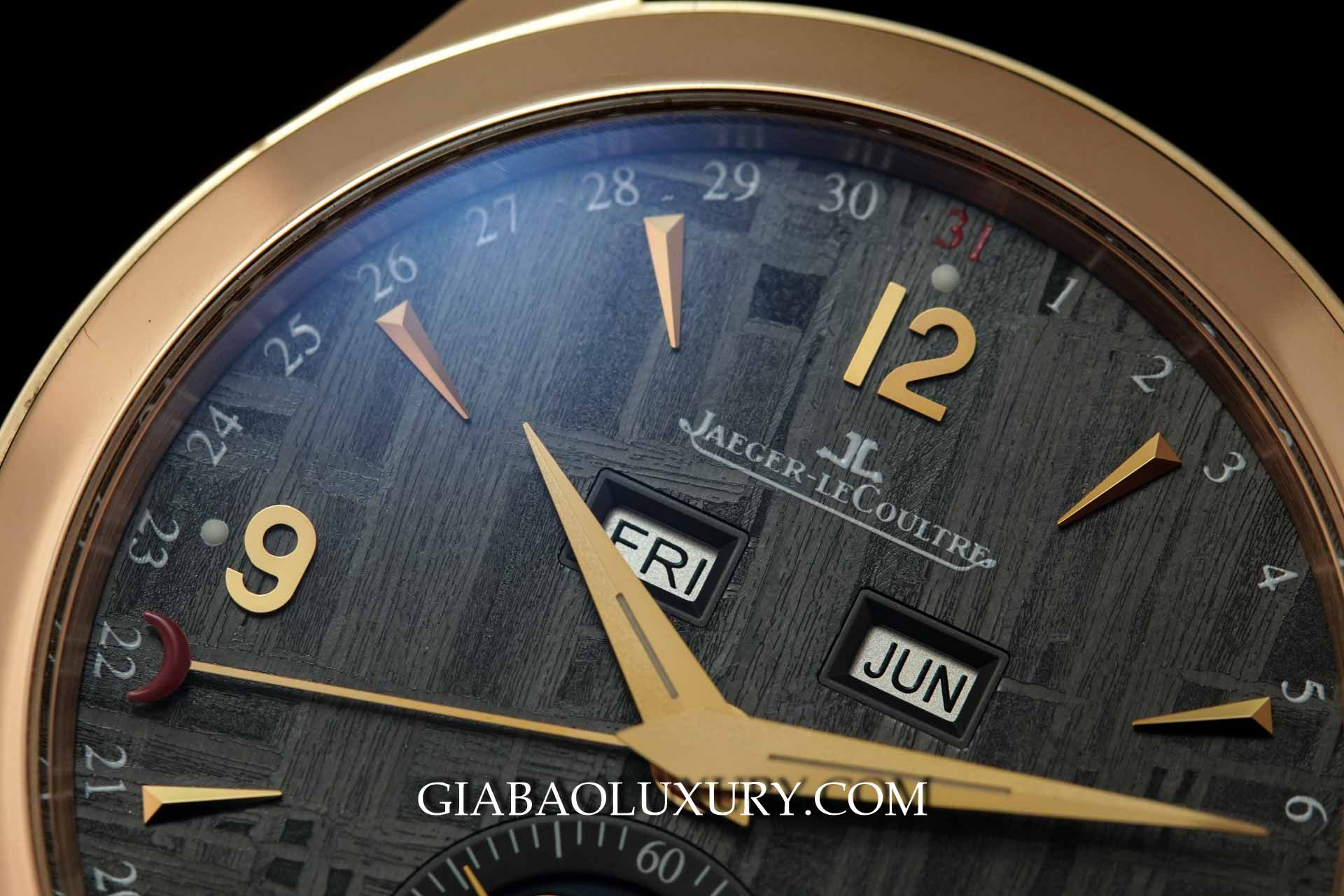 Đồng Hồ Jaeger-Lecoultre Master Automatic Ruthenium Meteorite Dial