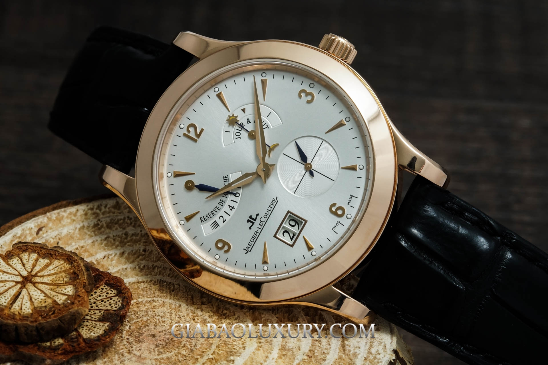 Đồng Hồ Jaeger Le-Coultre Master Eight Days Power Reserve 160.24.20