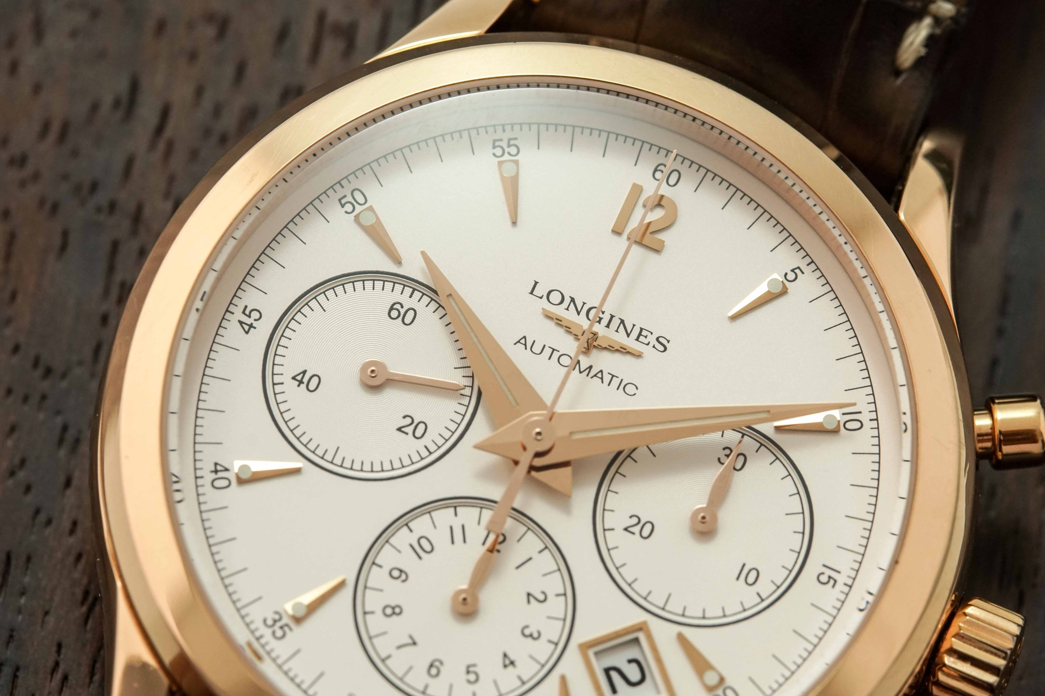 Đồng Hồ Longines Heritage Automatic Chronograph Silver Dial 41mm
