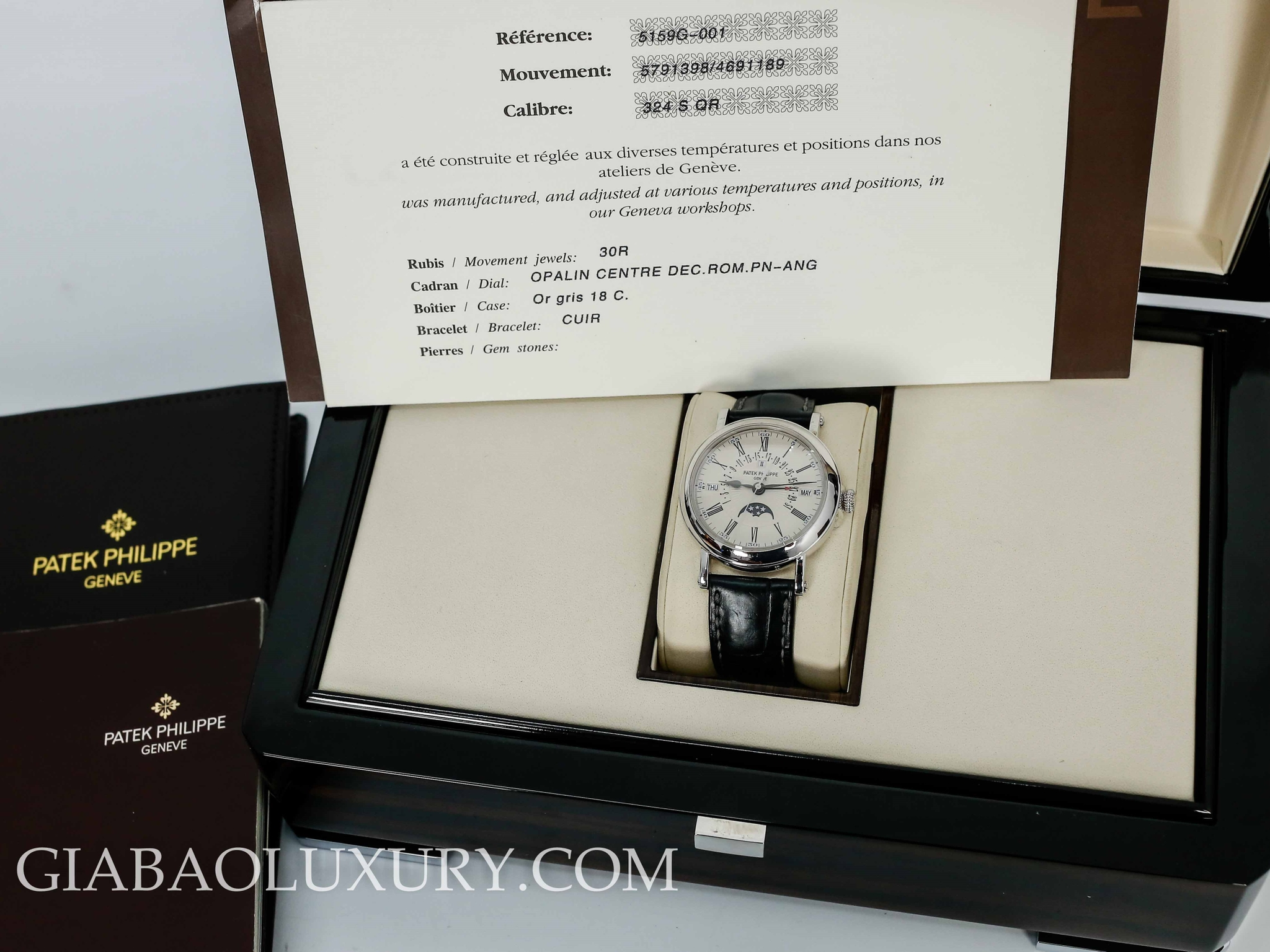 Đồng Hồ Patek Philippe Grand Complications 5159G-001