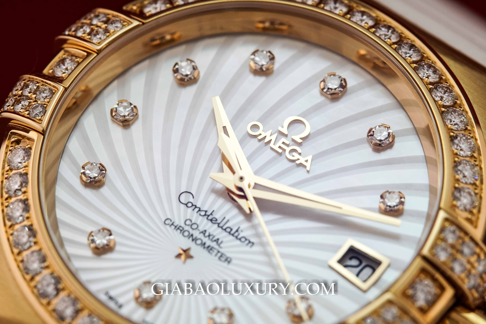 Đồng Hồ Omega Constellation Chronometer Ladies 35mm