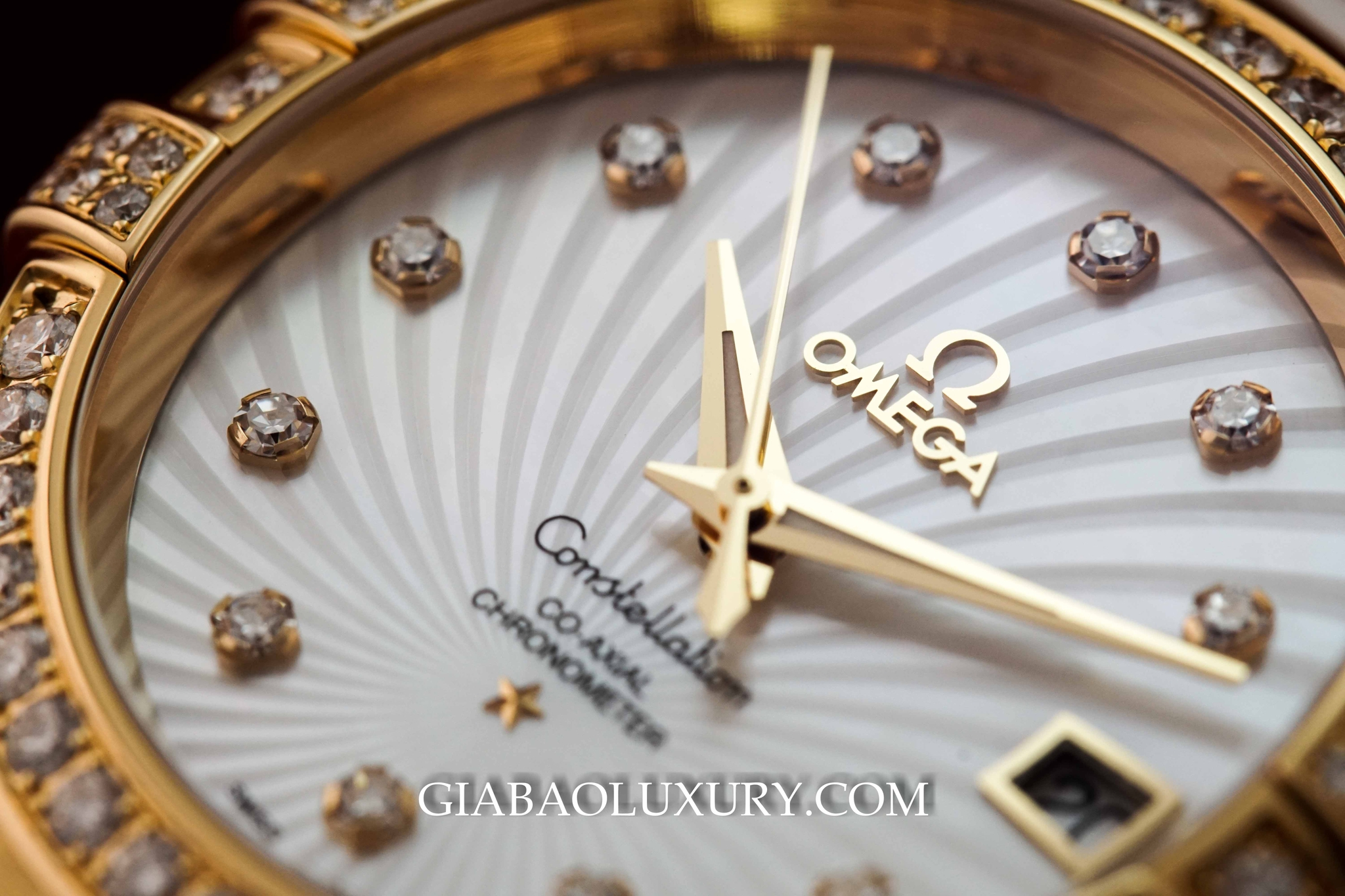 Đồng Hồ Omega Constellation Constellation Co-Axial 35mm 123.57.35.20.55.003