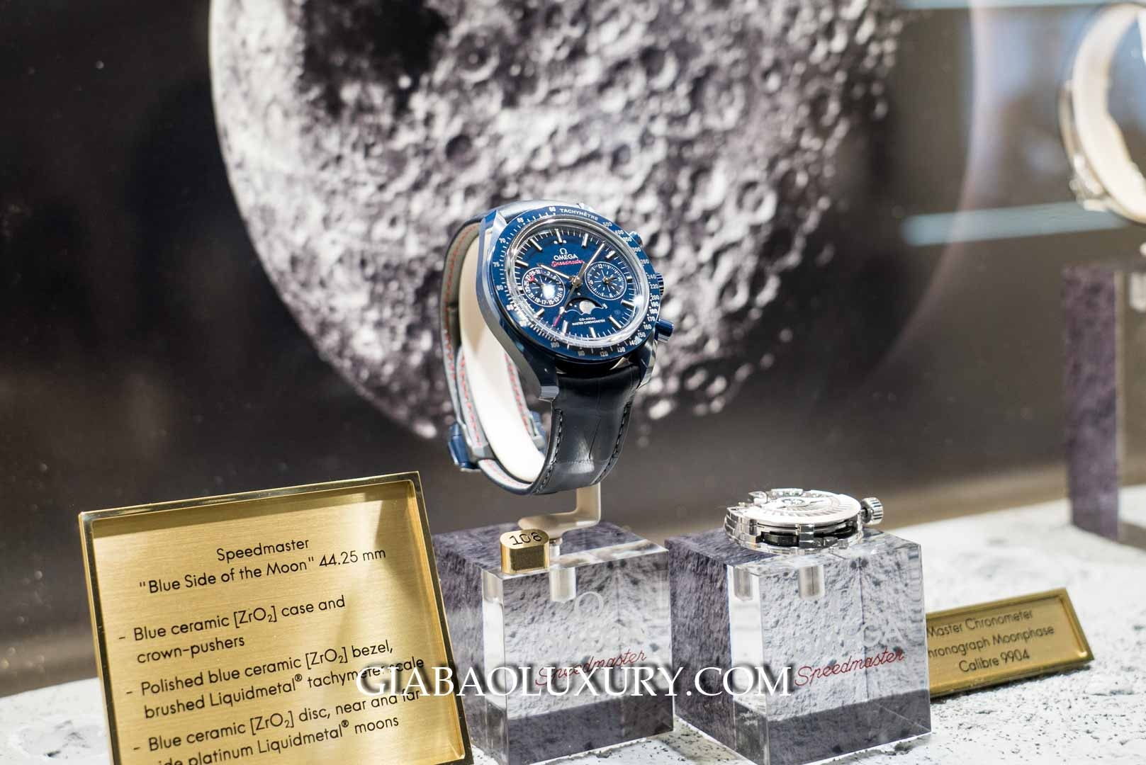 "Đồng hồ Omega Speedmaster ""Blue Side of the Moon"""