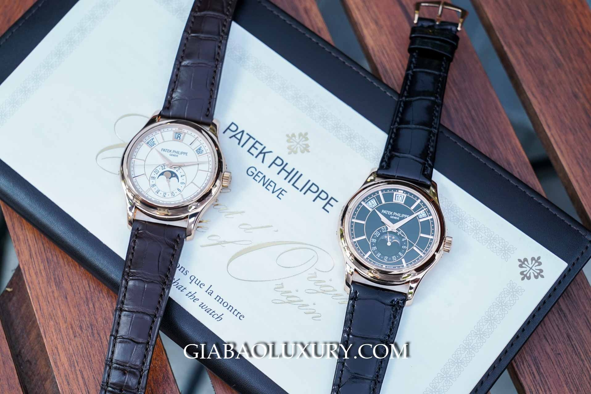 Đồng Hồ Patek Philippe Complications 5205R-001 Mặt Trắng