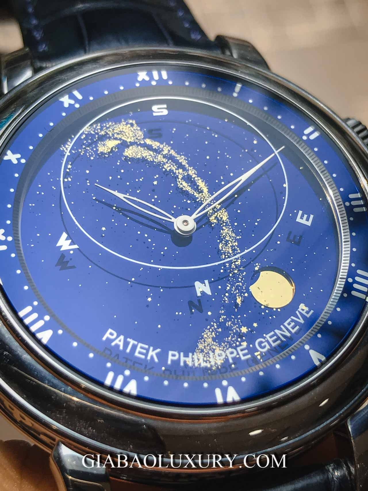 Đồng Hồ Patek Philippe Grand Complications 5102G-001 Sky Moon Celestial