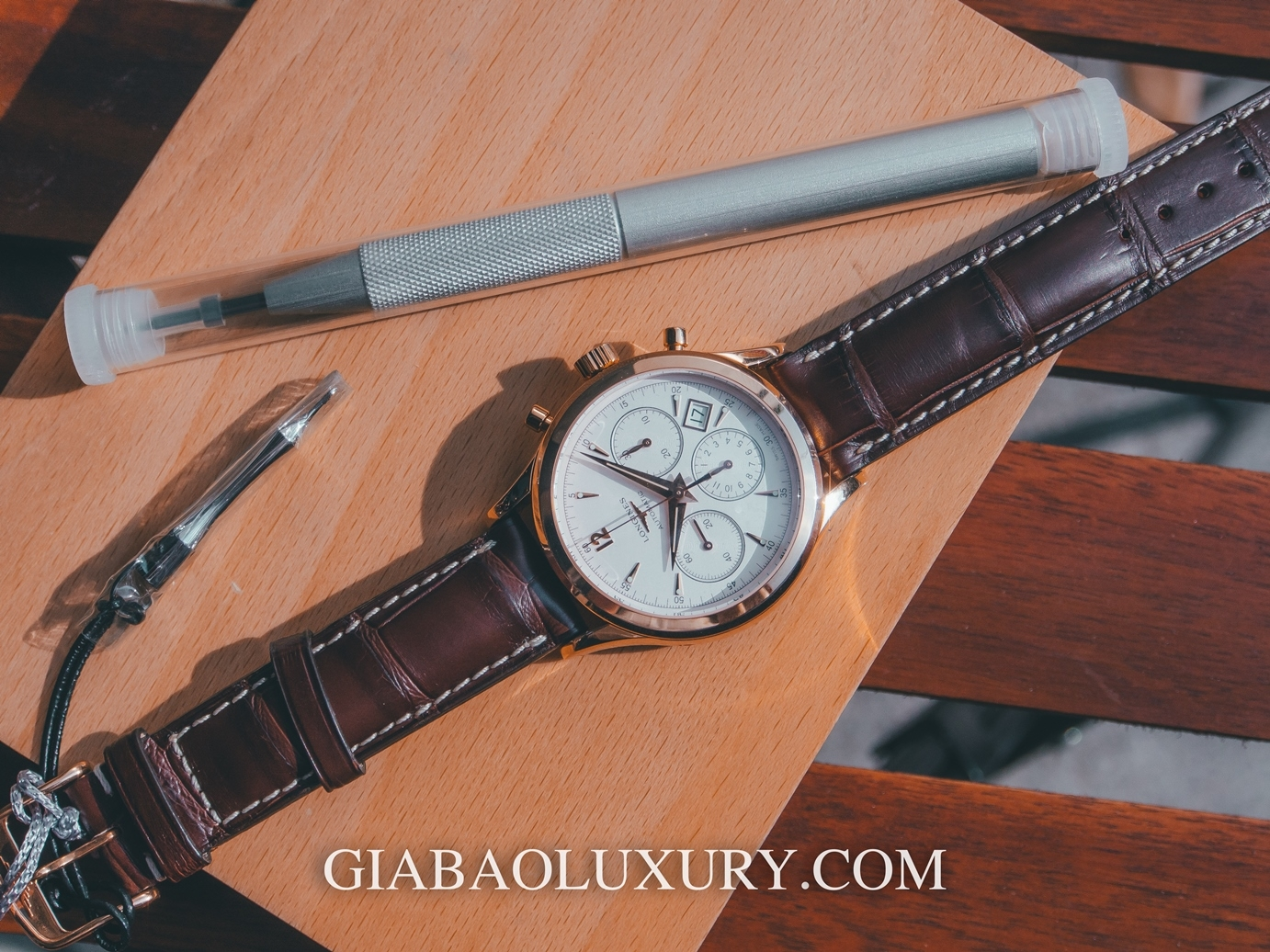Longines Heritage Automatic Chronograph Silver Dial