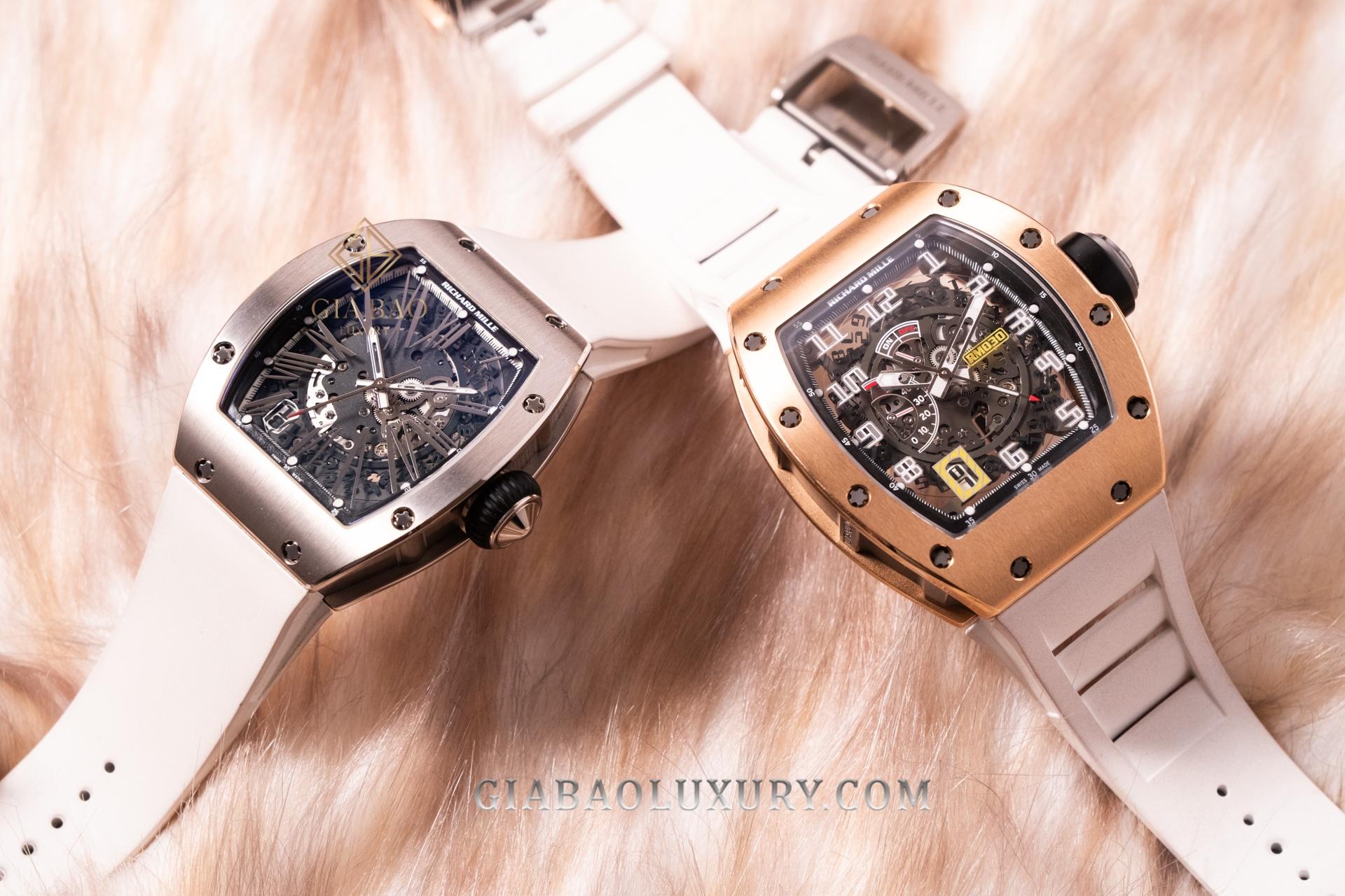 So sánh đồng hồ Richard Mille RM023 và RM030