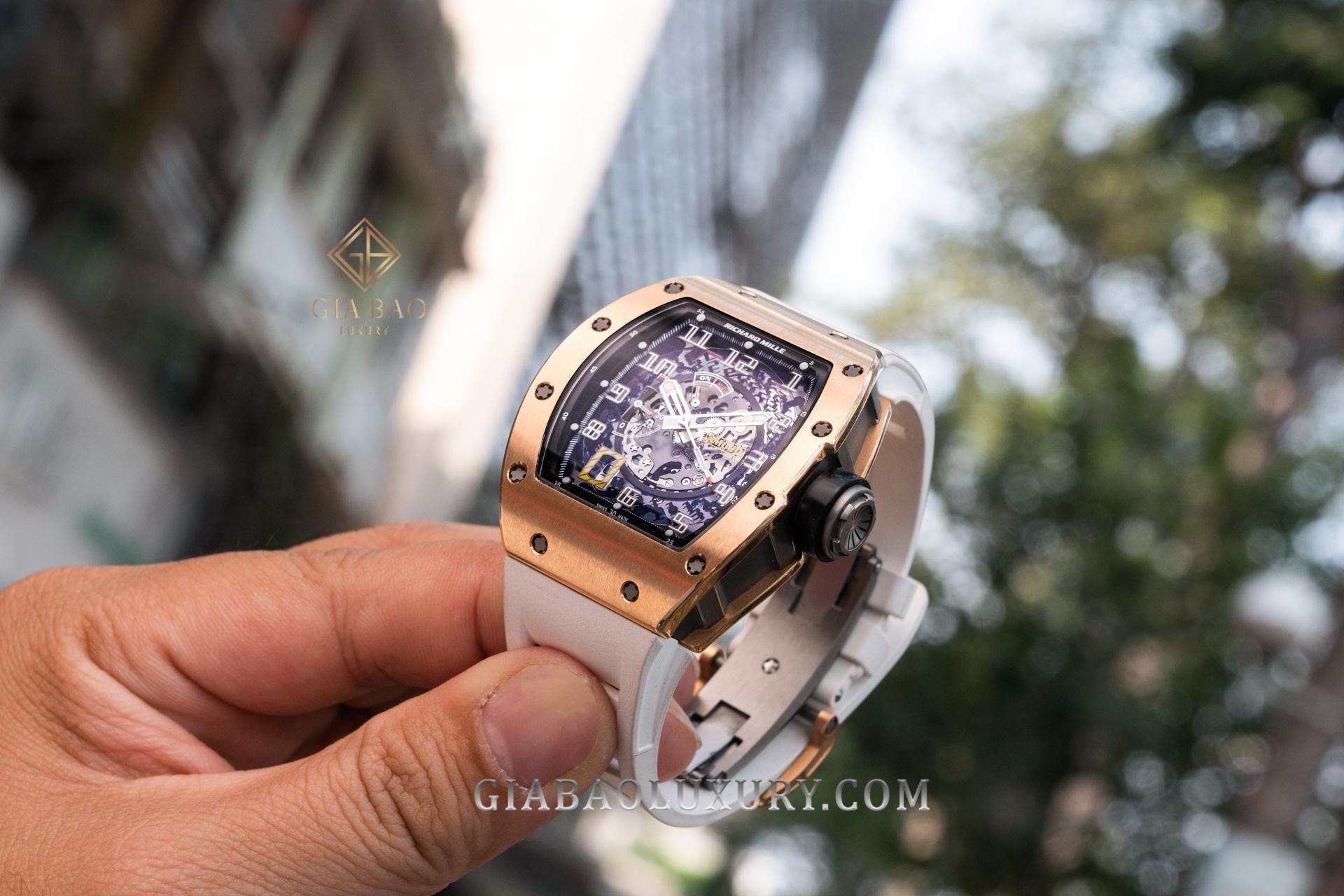 Đồng Hồ Richard Mille RM 030 Vàng Hồng