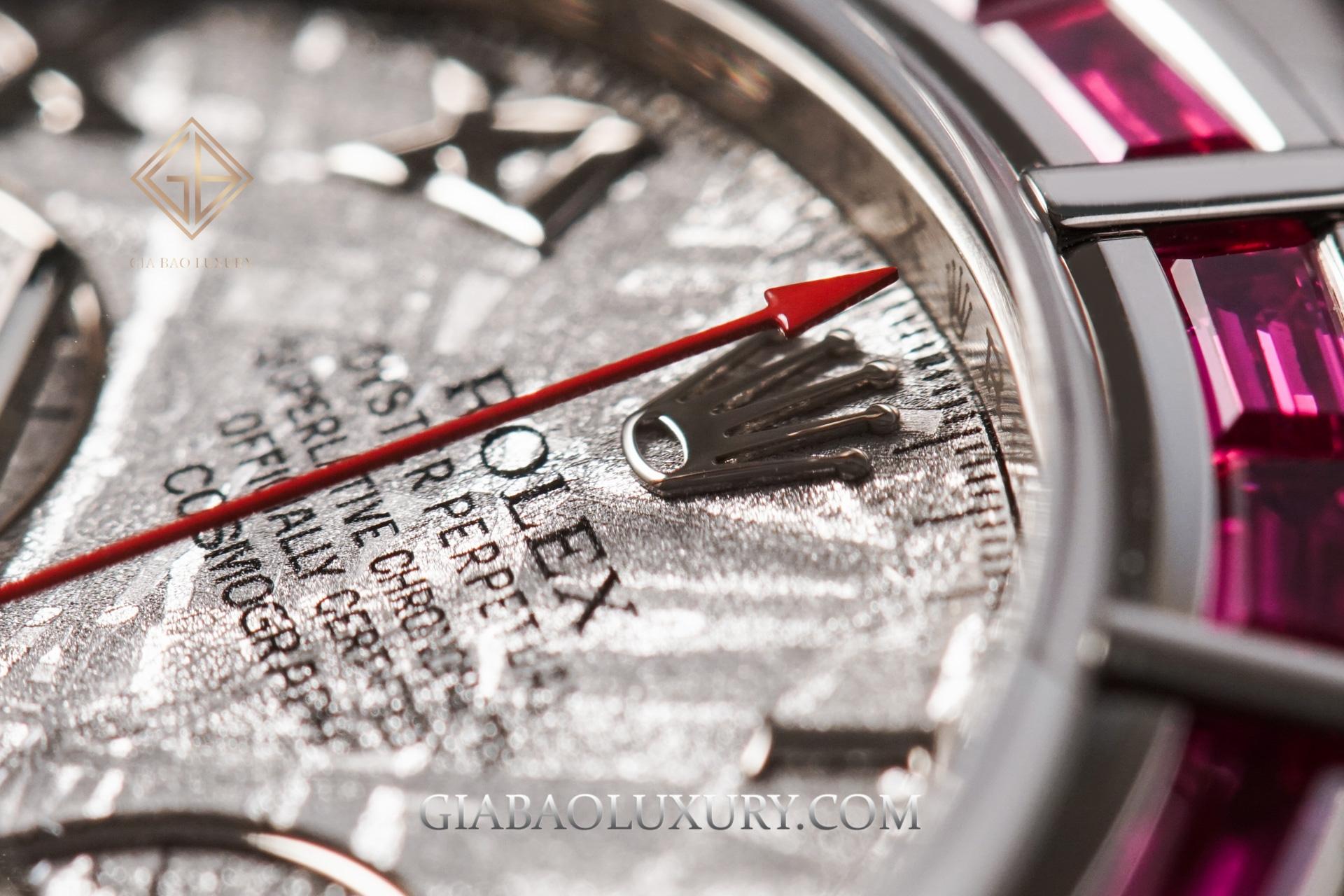 Đồng hồ Rolex Cosmograph Daytona 116589SALV Mặt Số Thiên Thạch Siêu Hiếm