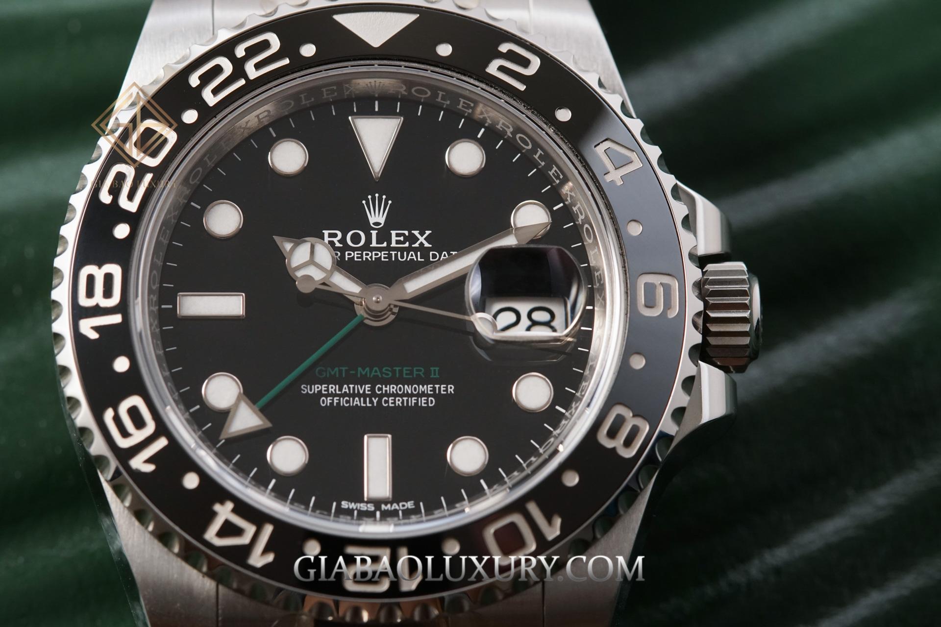 Đồng Hồ Rolex GMT-Master II 116710LN