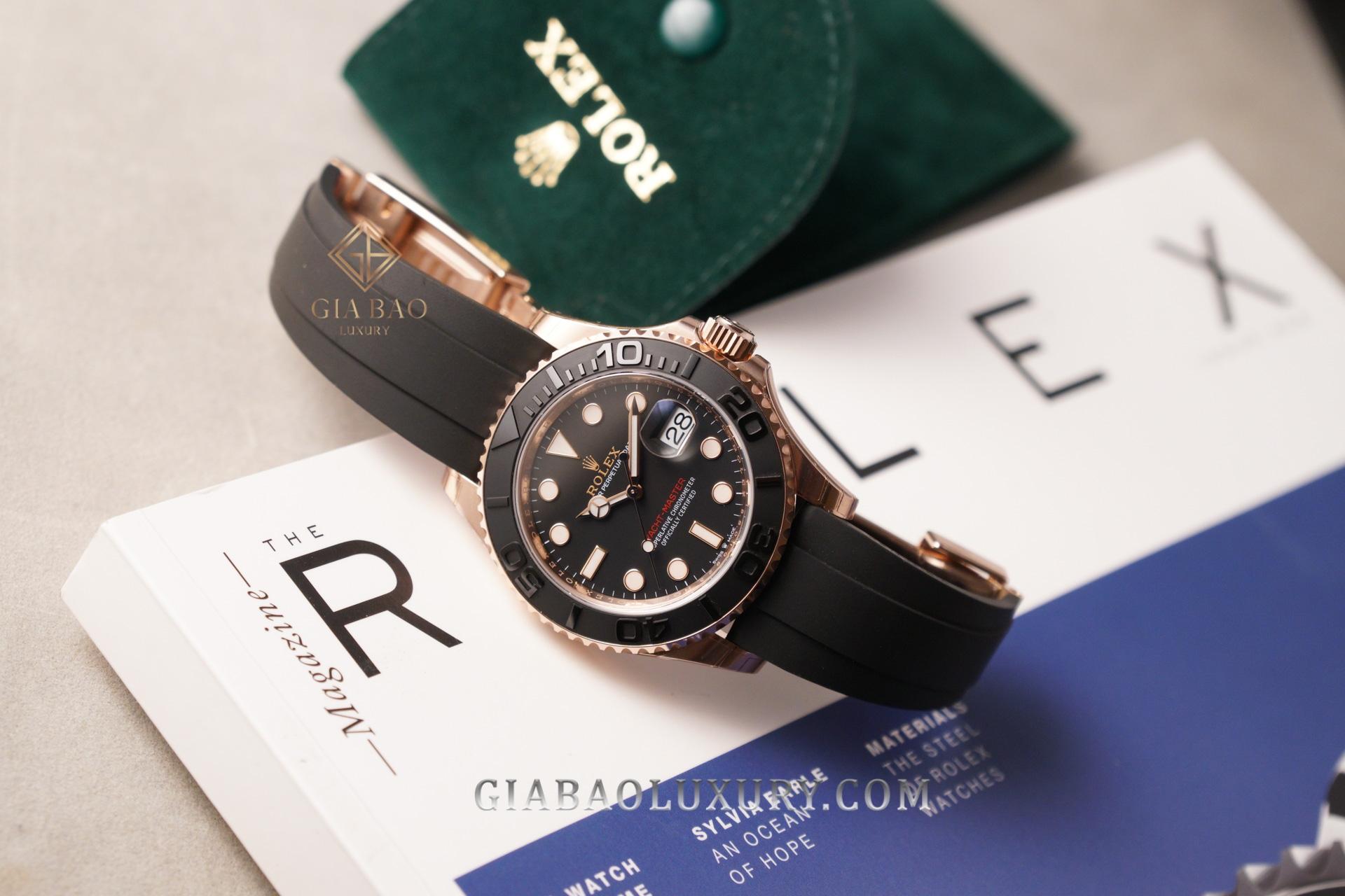 Đồng Hồ Rolex Yacht-Master 40 126655 Mặt Số Đen