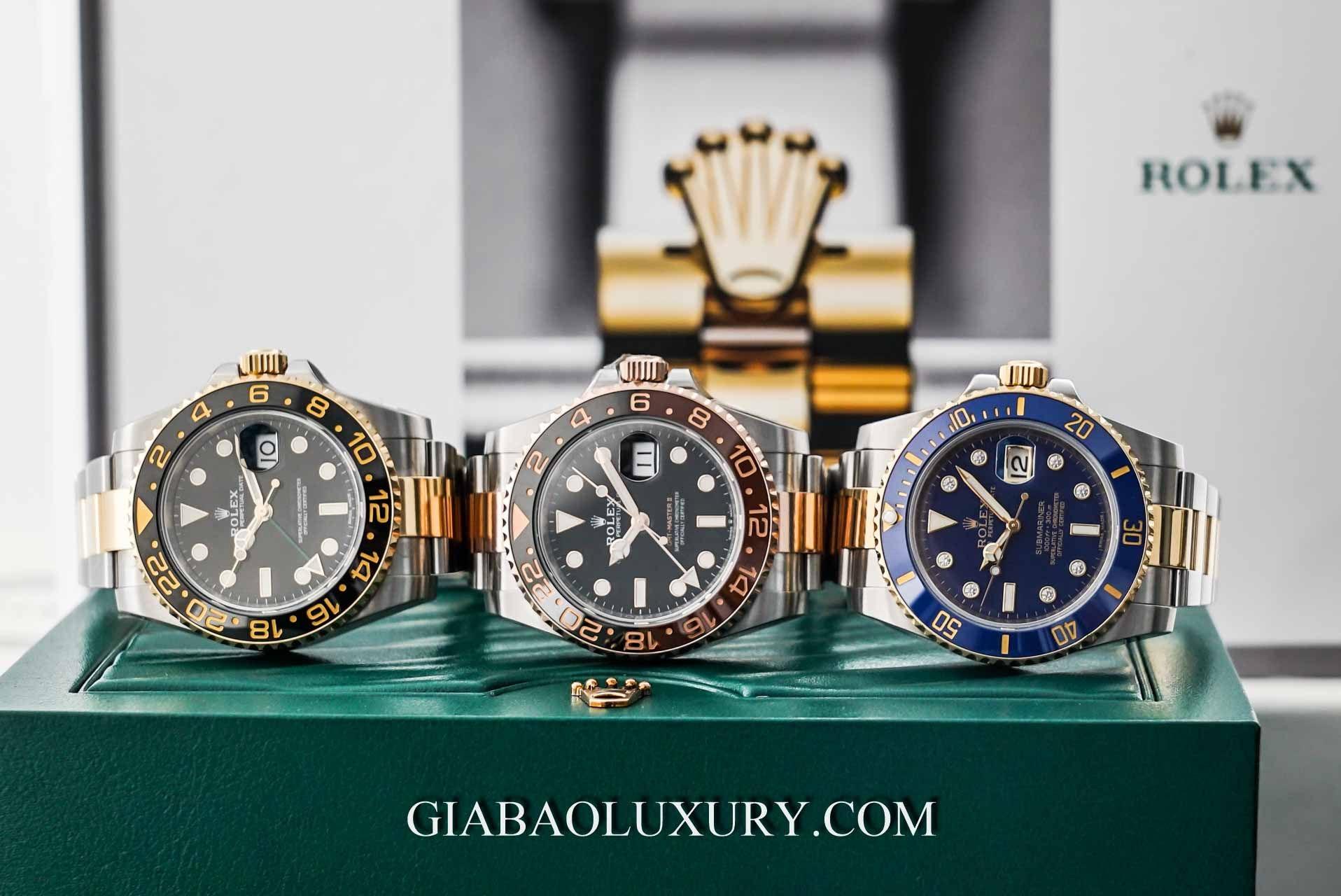 Đồng Hồ Rolex GMT Master II 116713LN