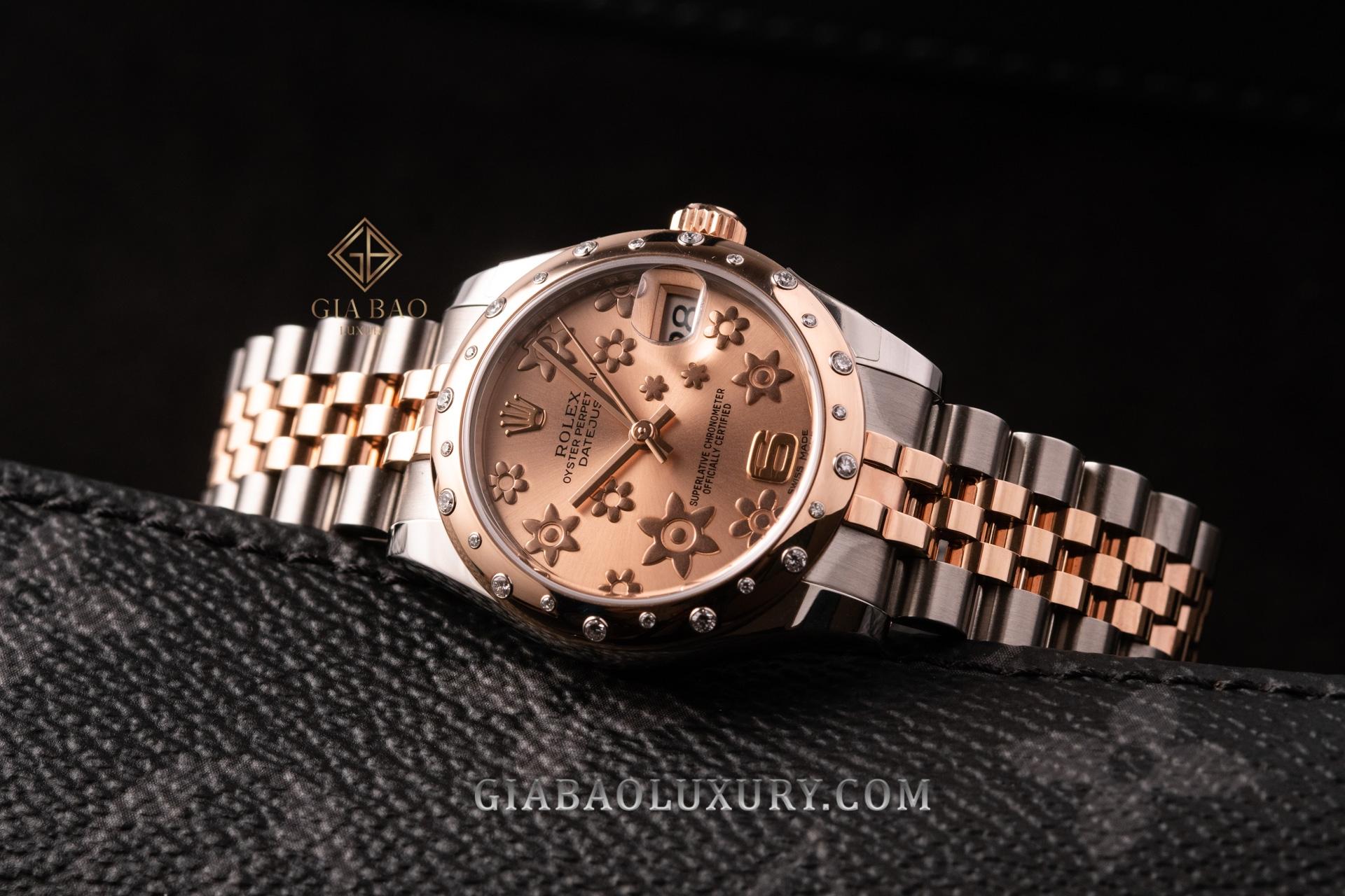 Đồng Hồ Rolex  Lady Datejust 31 178341 Mặt Số Hồng