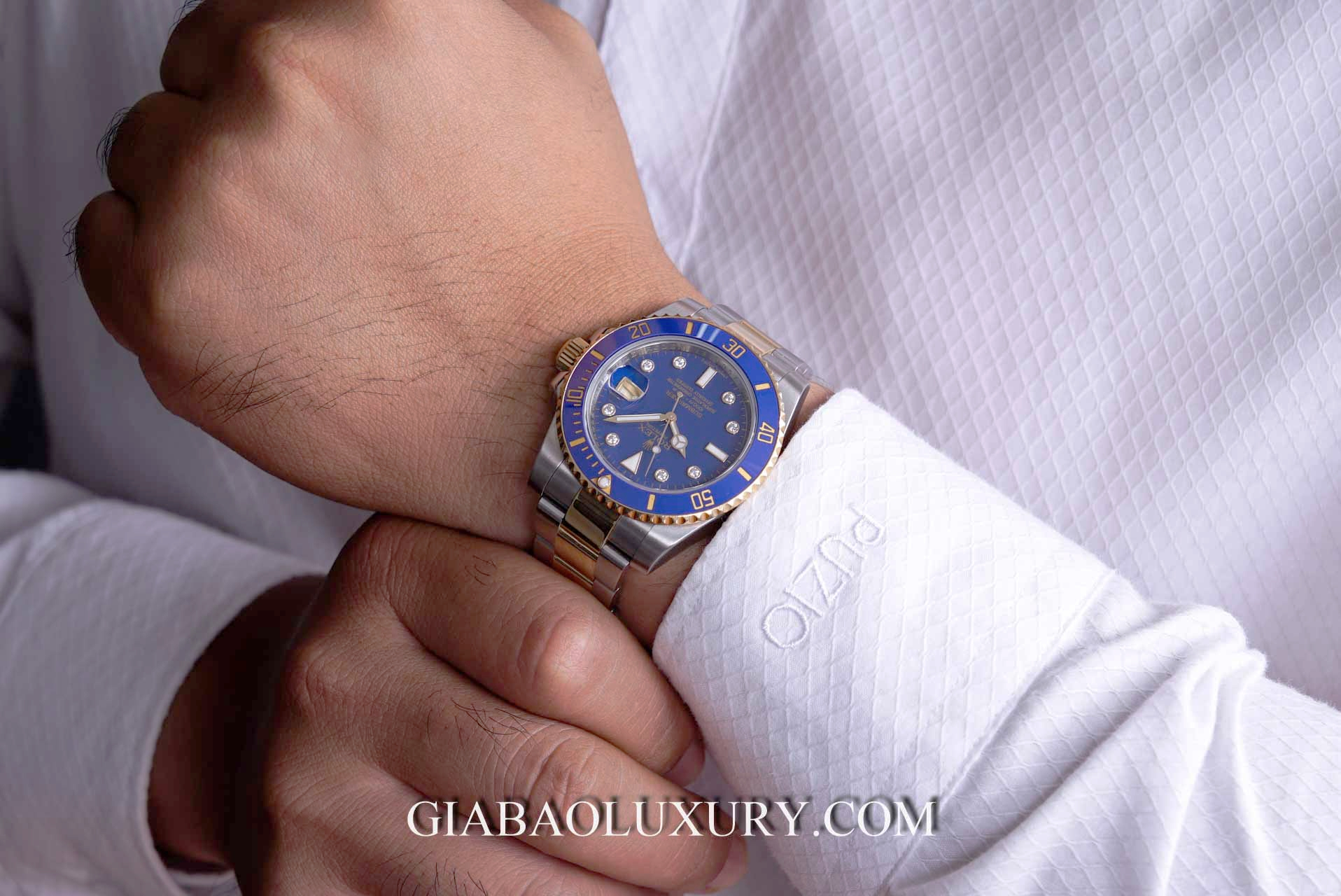 Đồng hồ Rolex Submariner Date 116613 Cọc Số Kim Cương (siêu hiếm)