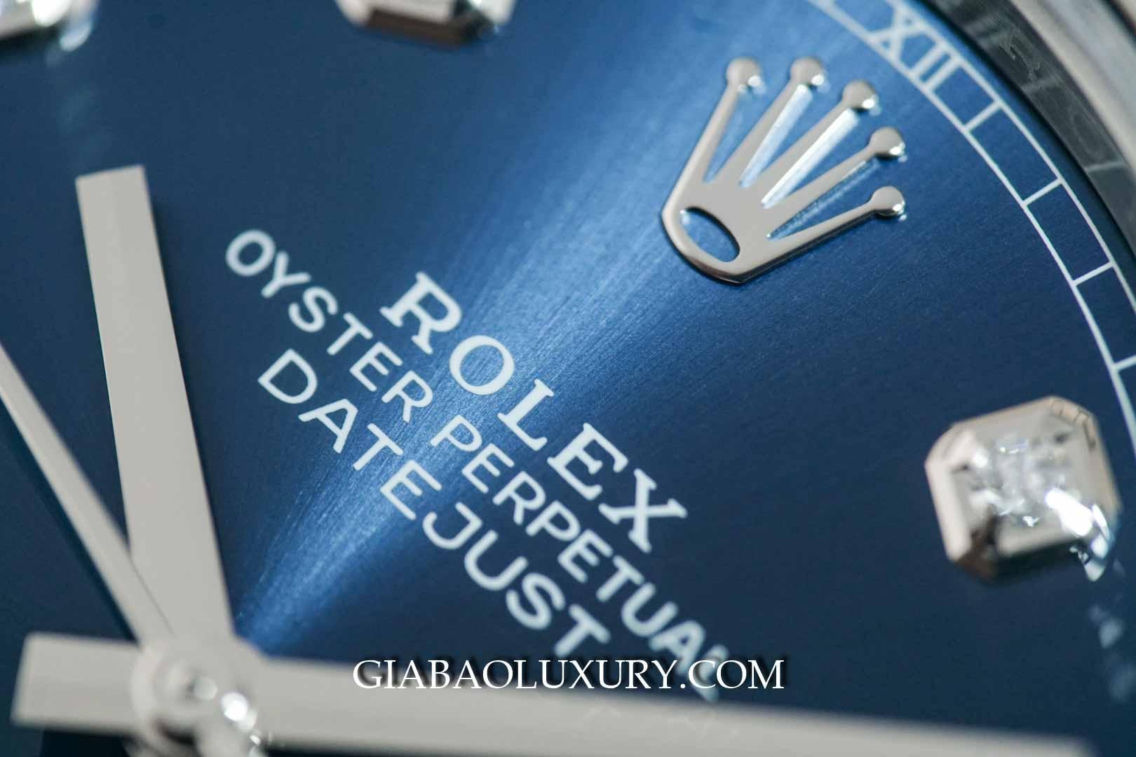 Đồng Hồ Rolex Datejust 41mm 126334 Mặt Xanh