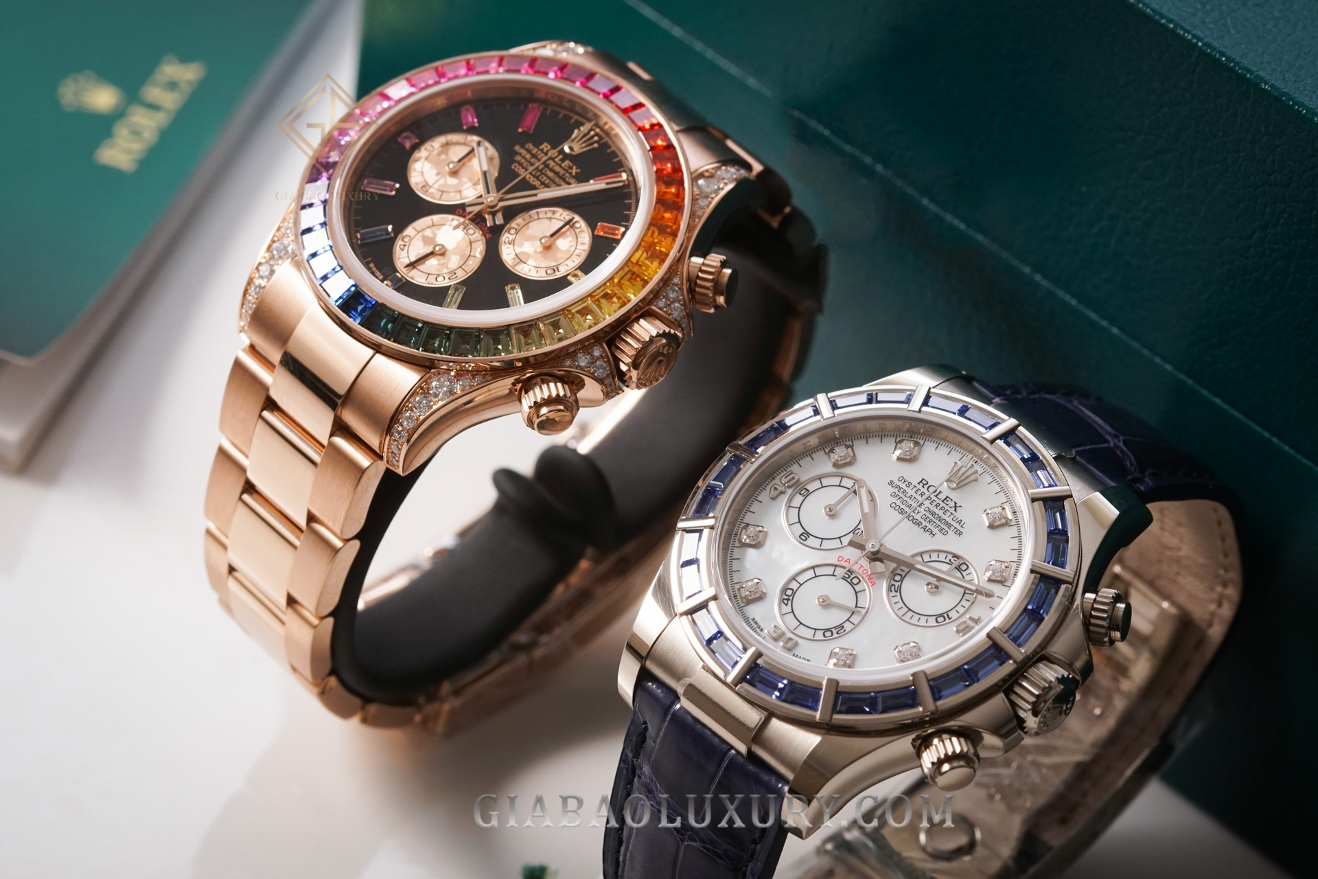 Review đồng hồ Rolex Cosmograph Daytona Rainbow 116595RBOW