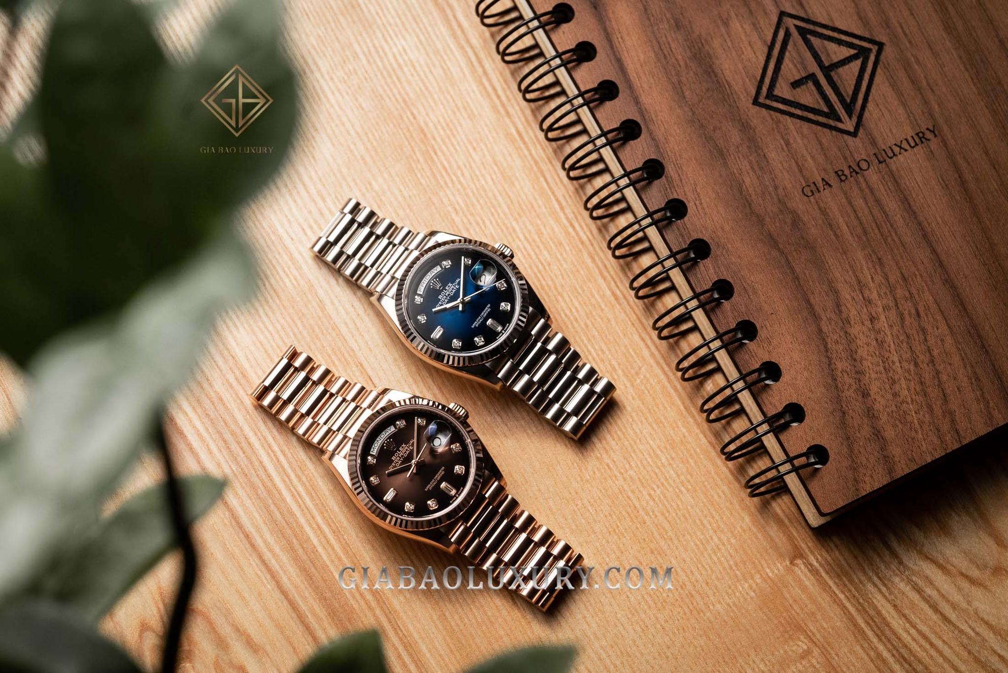Gia Bảo Luxury có dịch vụ mua đồng hồ Rolex vàng nguyên khối uy tín toàn quốc