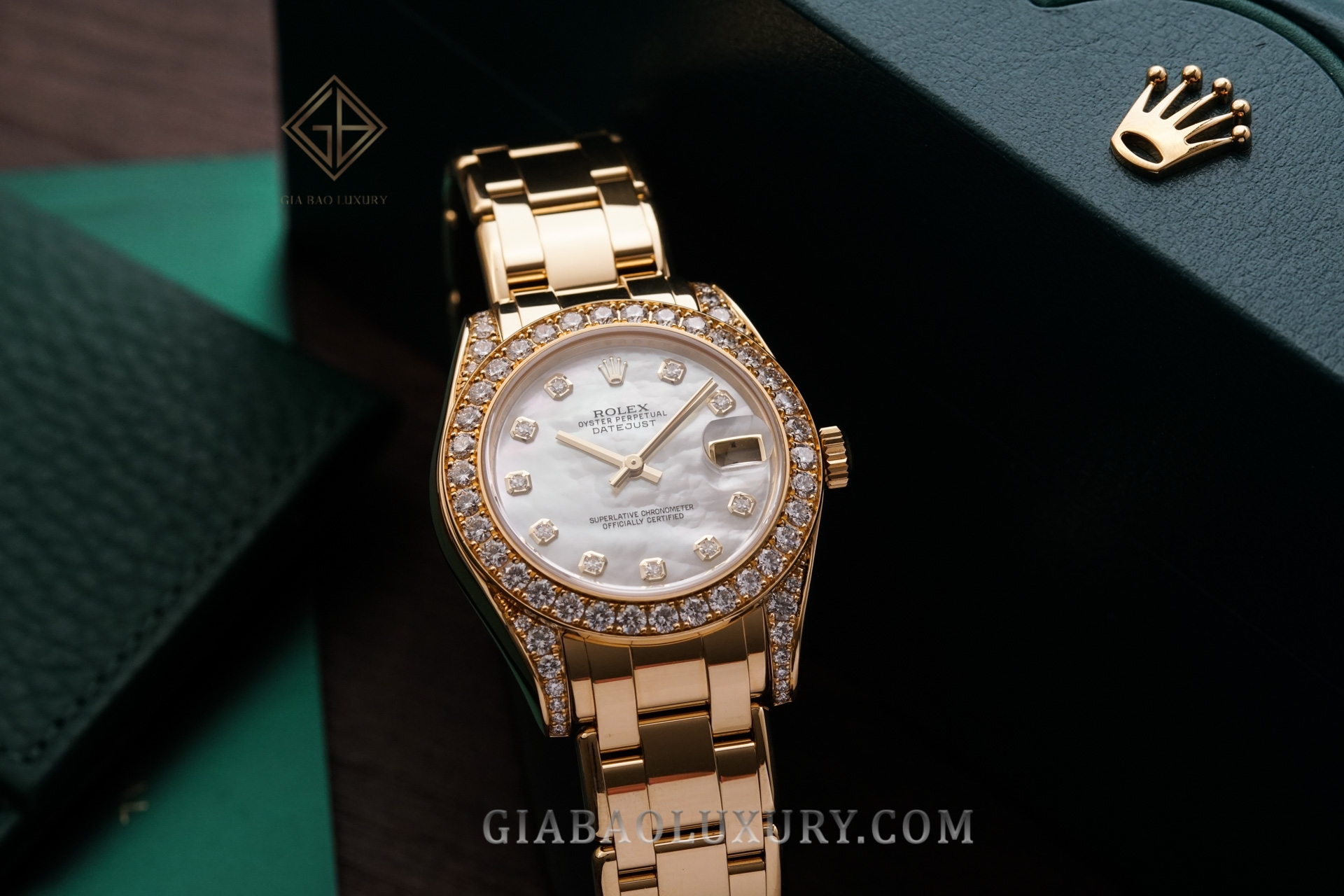 Rolex Pearlmaster 34 81158