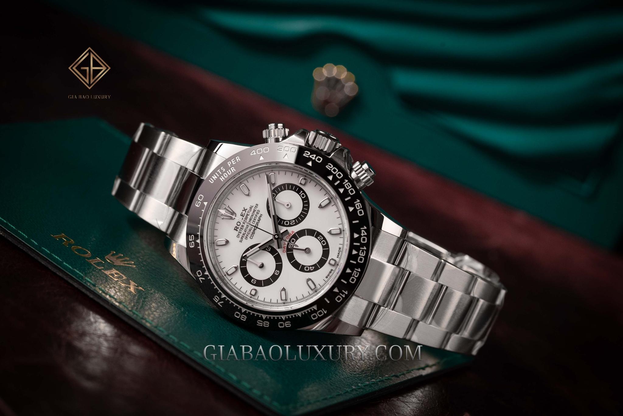 Đồng Hồ Rolex Cosmograph Daytona 116500LN Mặt Số Trắng