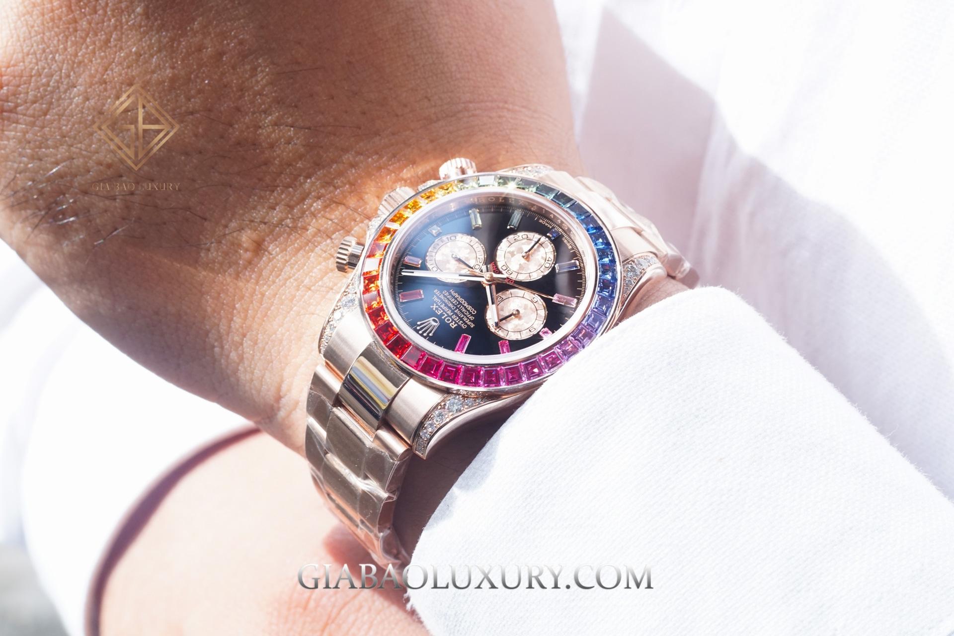 đồng hồ Rolex Cosmograph Daytona Rainbow 116595RBOW