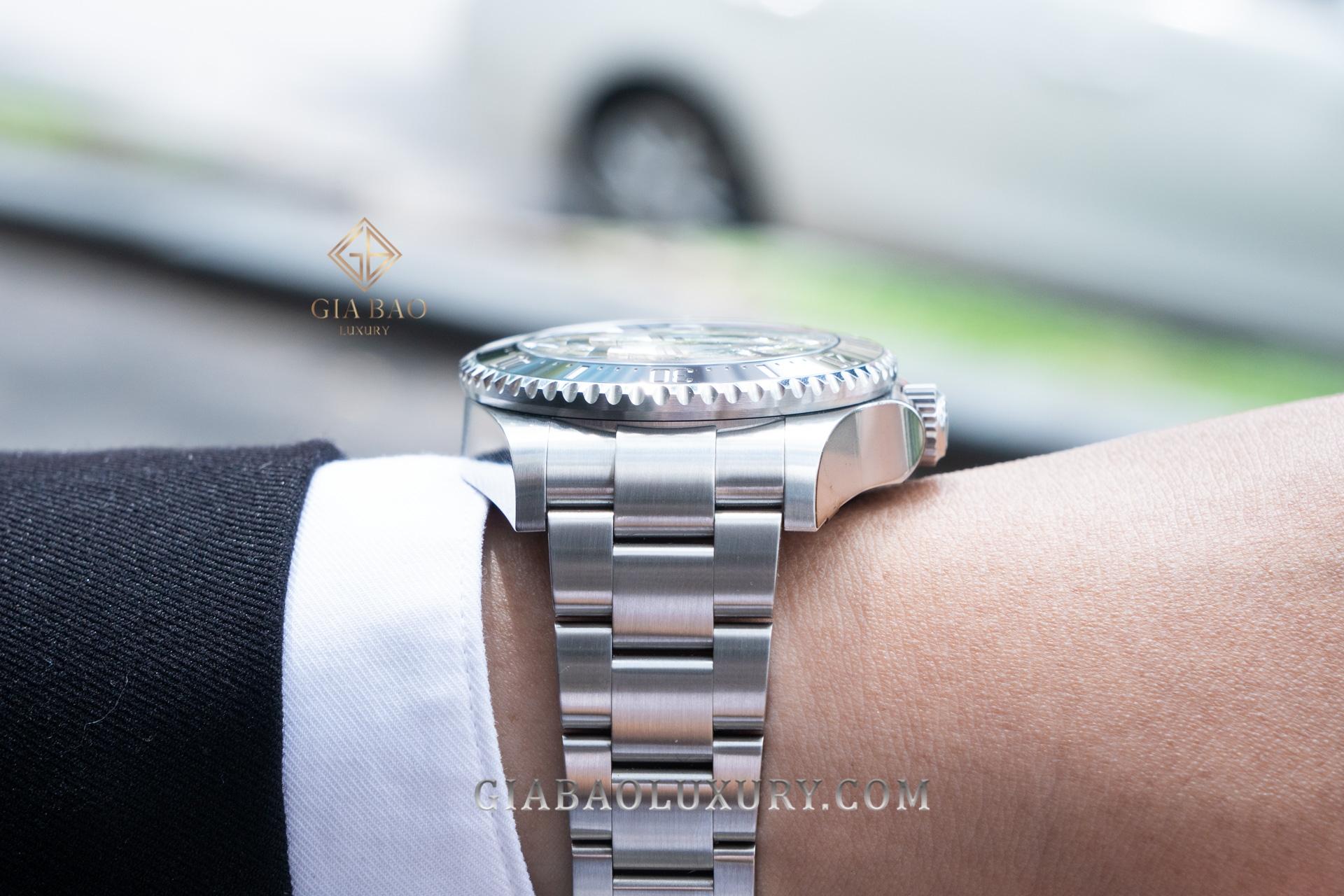 Đồng hồ Rolex Deepsea 126660 Mặt Số Đen