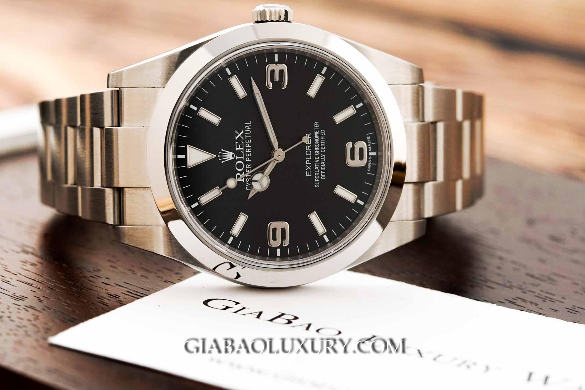 Review đồng hồ Rolex Explorer 214270